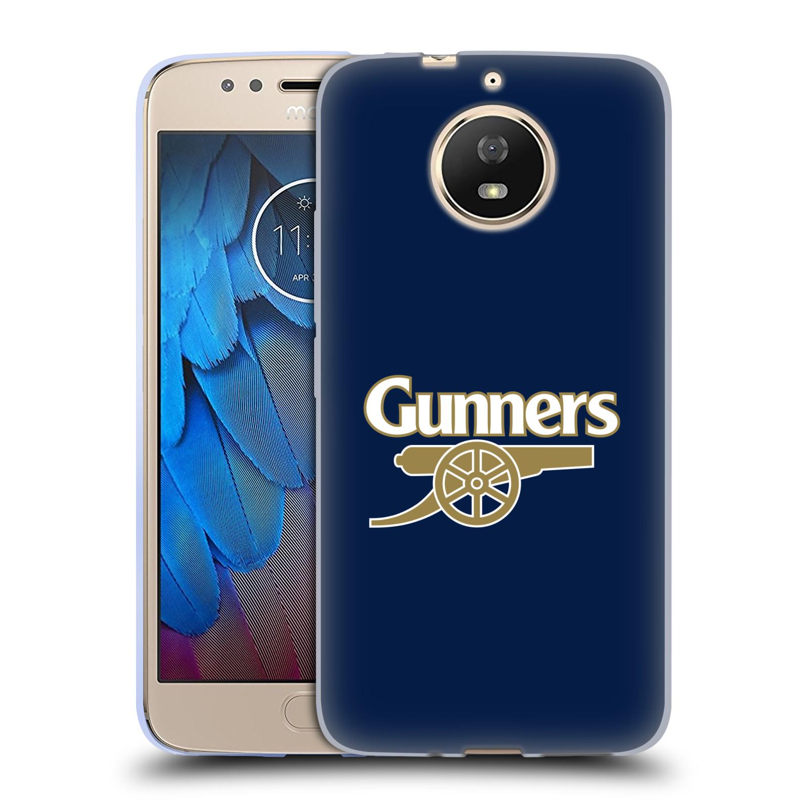 Silikonové pouzdro na mobil Lenovo Moto G5s - Head Case - Arsenal FC - Gunners