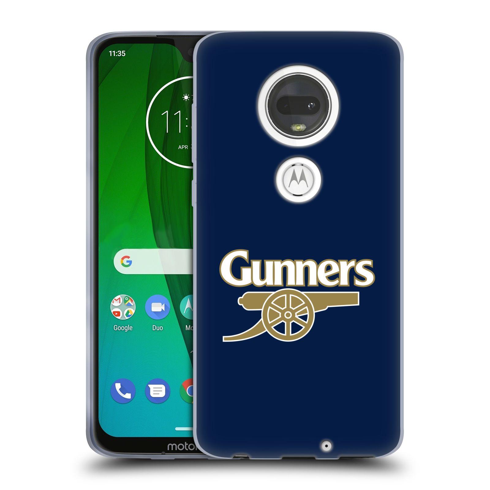 Silikonové pouzdro na mobil Motorola Moto G7 - Head Case - Arsenal FC - Gunners