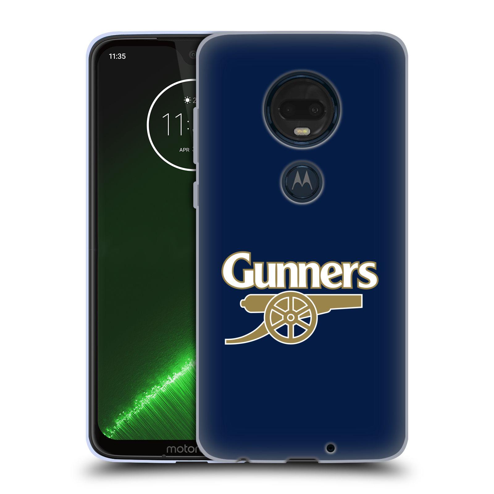Silikonové pouzdro na mobil Motorola Moto G7 Plus - Head Case - Arsenal FC - Gunners
