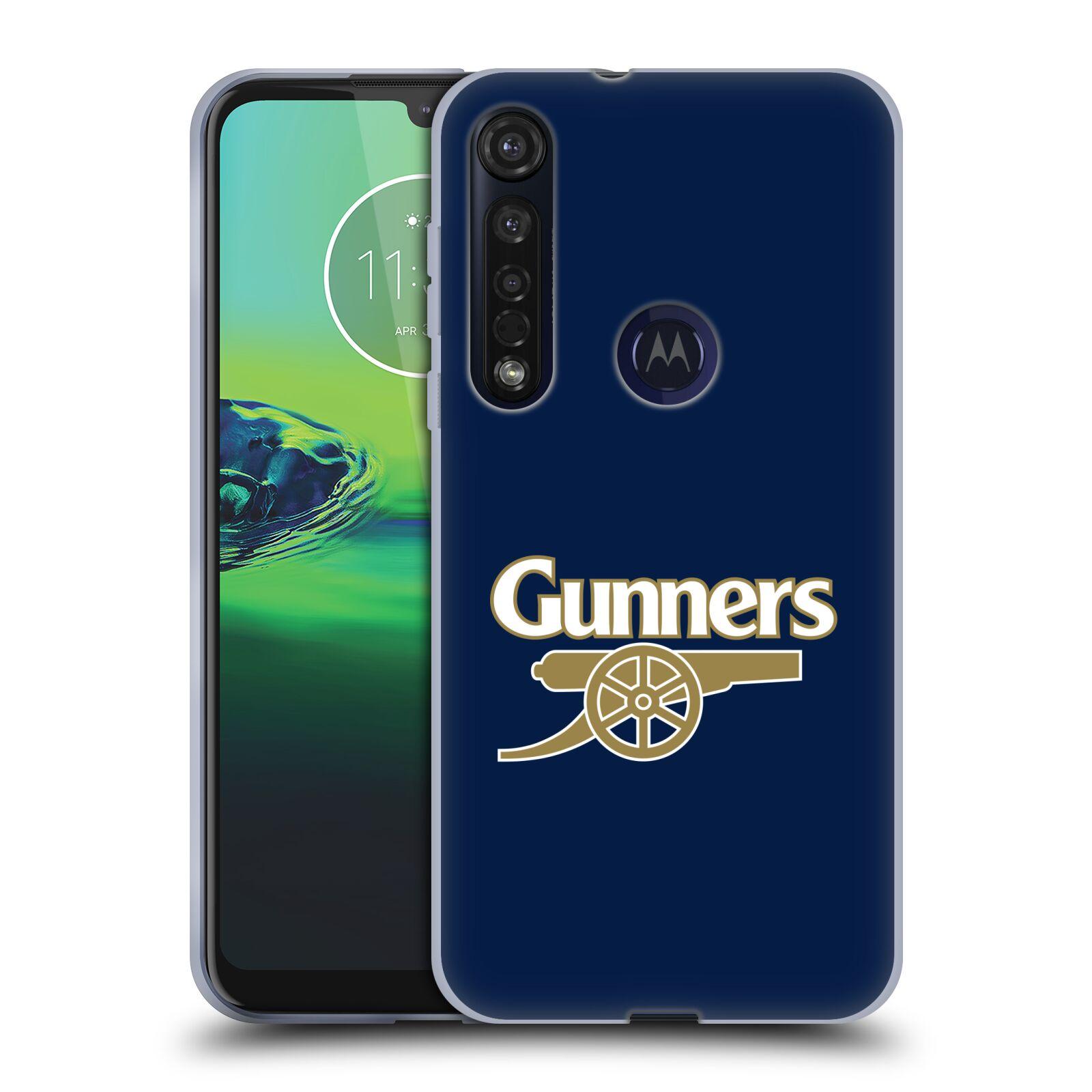 Silikonové pouzdro na mobil Motorola Moto G8 Plus - Head Case - Arsenal FC - Gunners