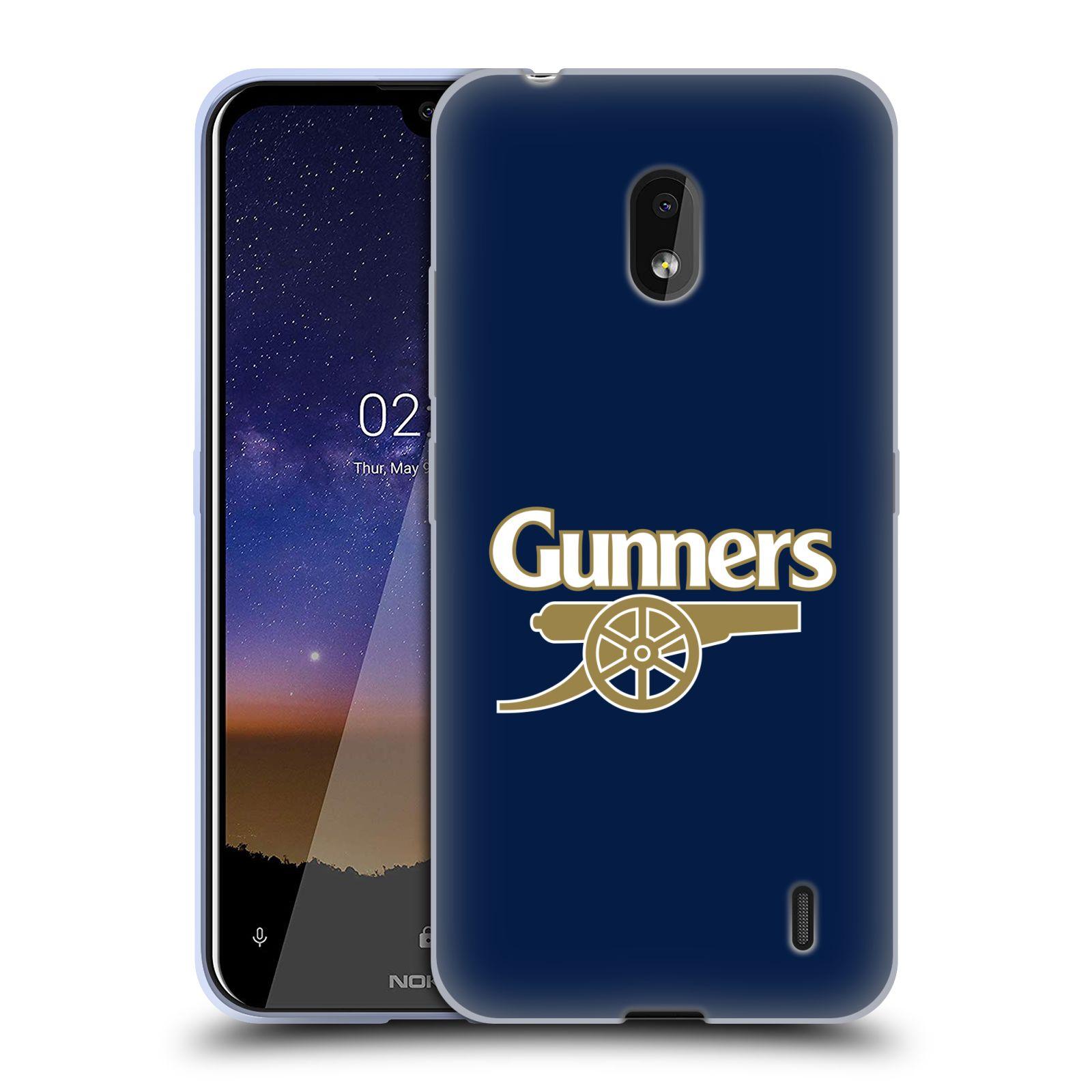 Silikonové pouzdro na mobil Nokia 2.2 - Head Case - Arsenal FC - Gunners