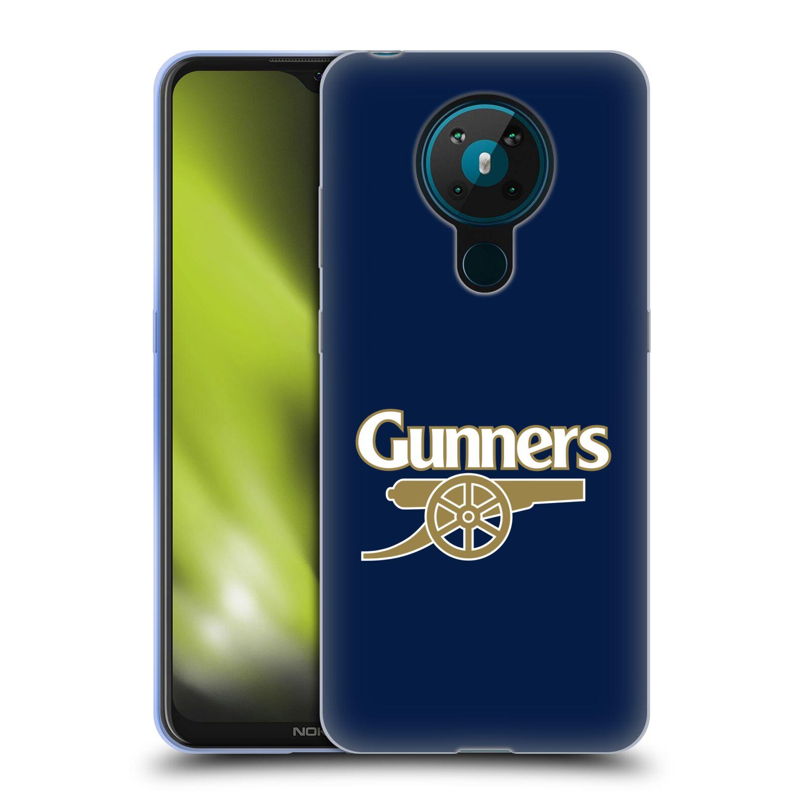 Silikonové pouzdro na mobil Nokia 5.3 - Head Case - Arsenal FC - Gunners