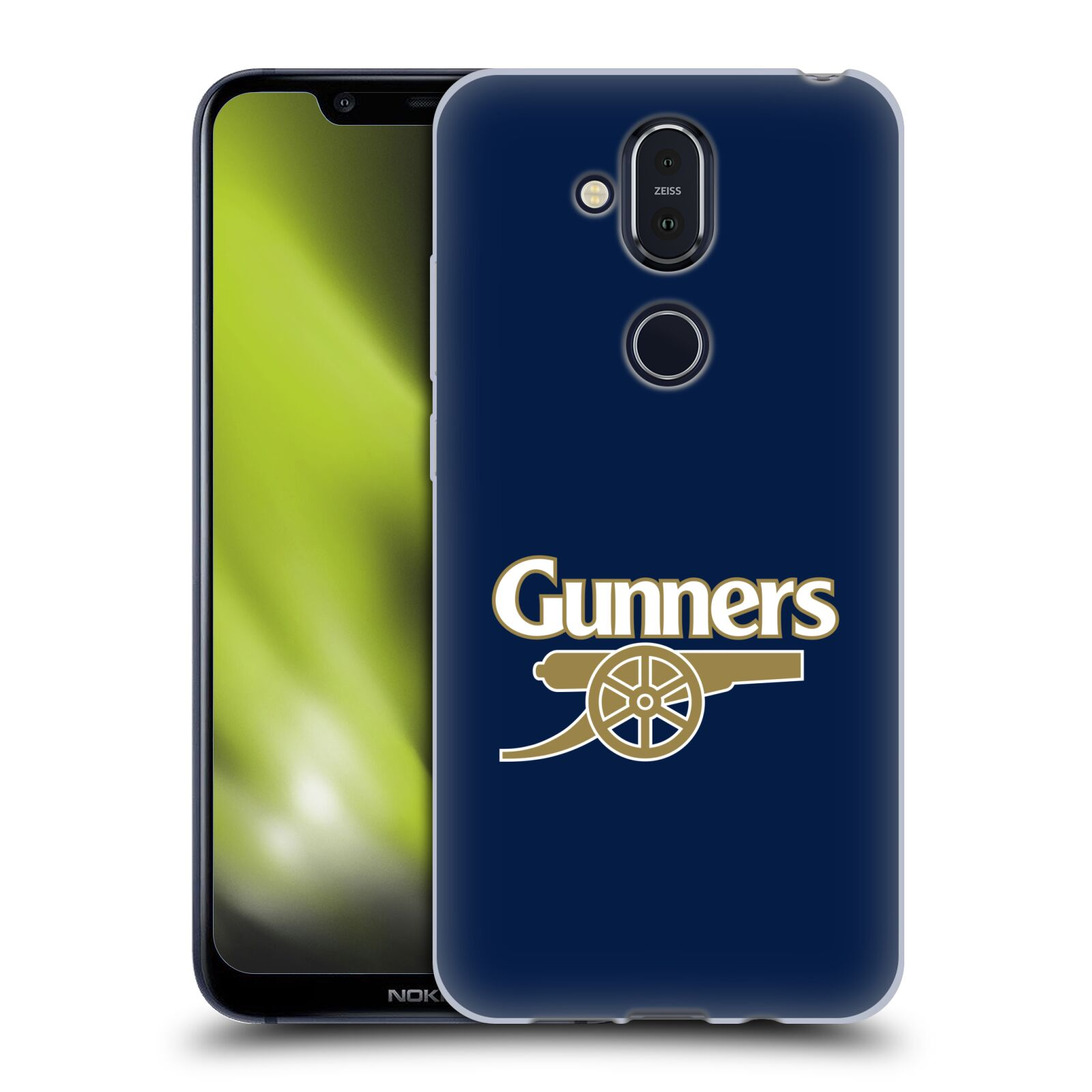 Silikonové pouzdro na mobil Nokia 8.1 - Head Case - Arsenal FC - Gunners