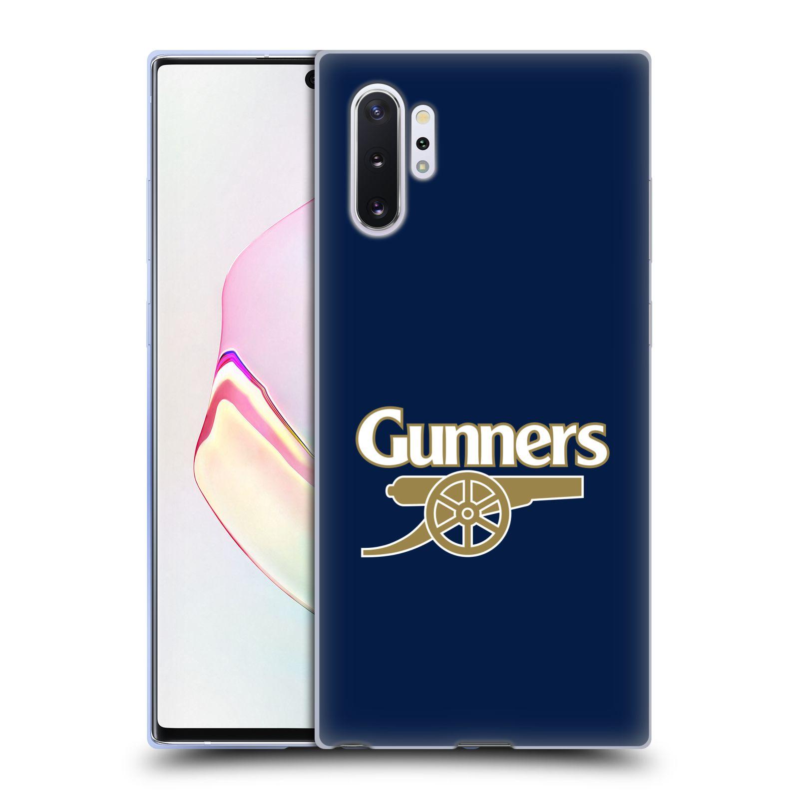 Silikonové pouzdro na mobil Samsung Galaxy Note 10 Plus - Head Case - Arsenal FC - Gunners