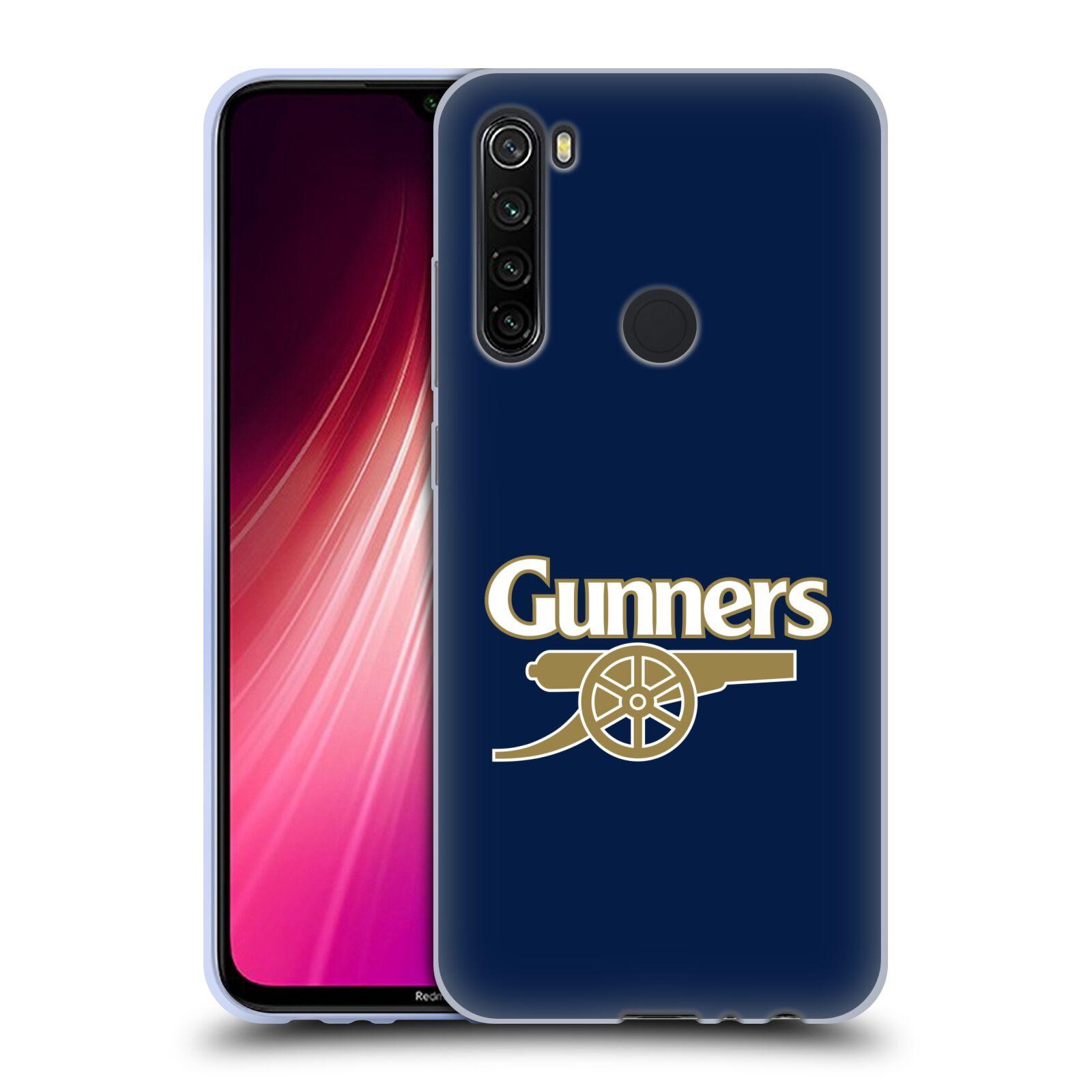 Silikonové pouzdro na mobil Xiaomi Redmi Note 8T - Head Case - Arsenal FC - Gunners