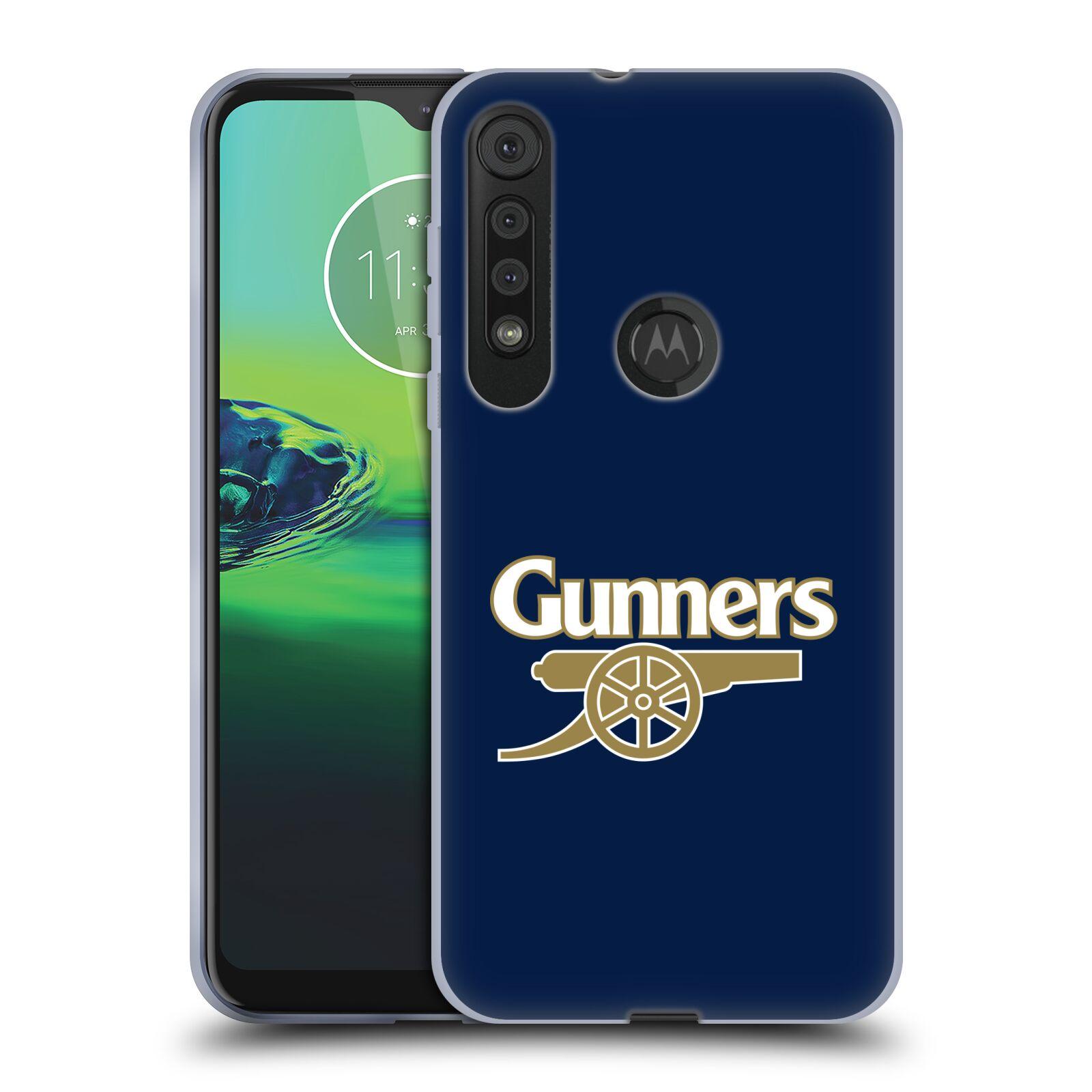 Silikonové pouzdro na mobil Motorola One Macro - Head Case - Arsenal FC - Gunners