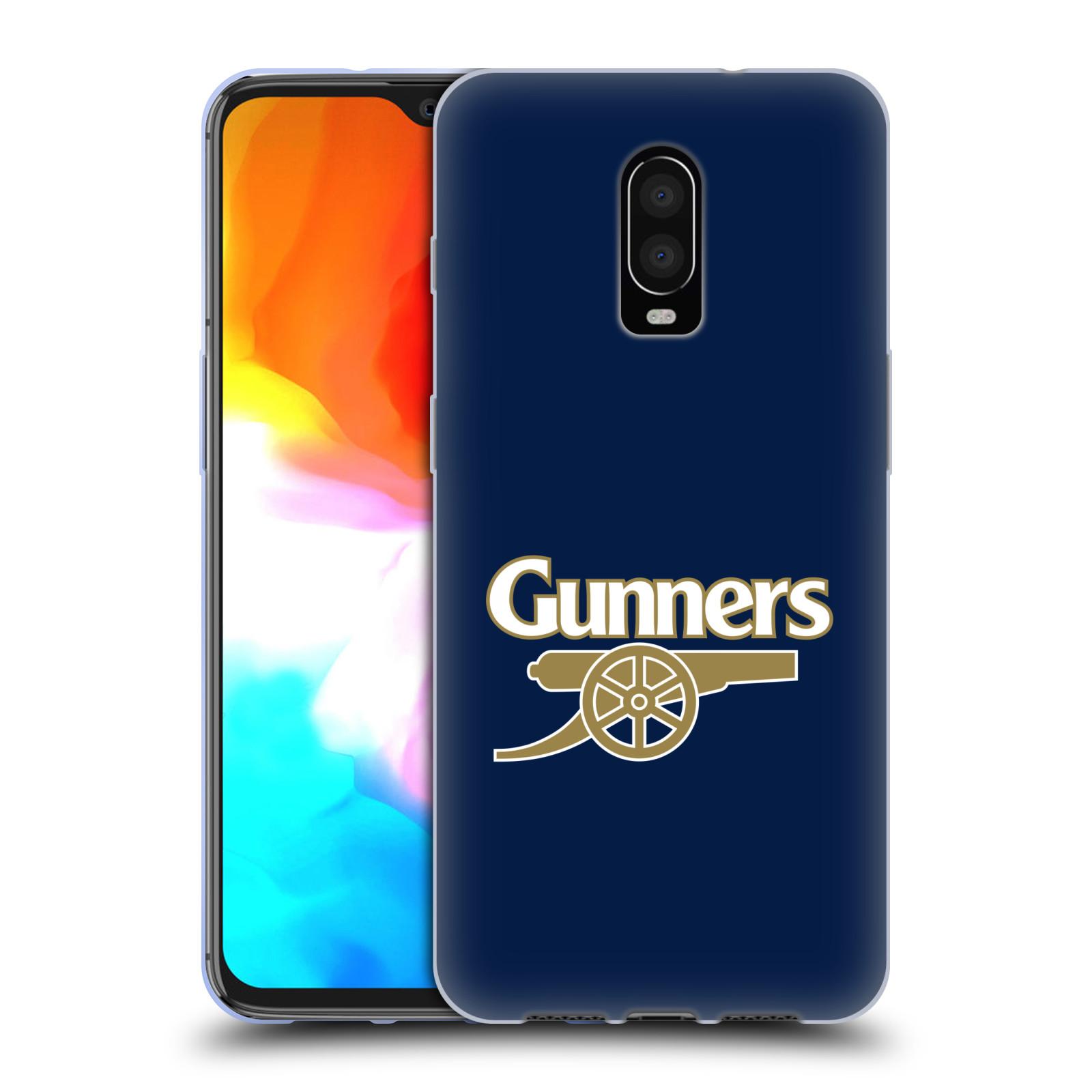 Silikonové pouzdro na mobil OnePlus 6T - Head Case - Arsenal FC - Gunners