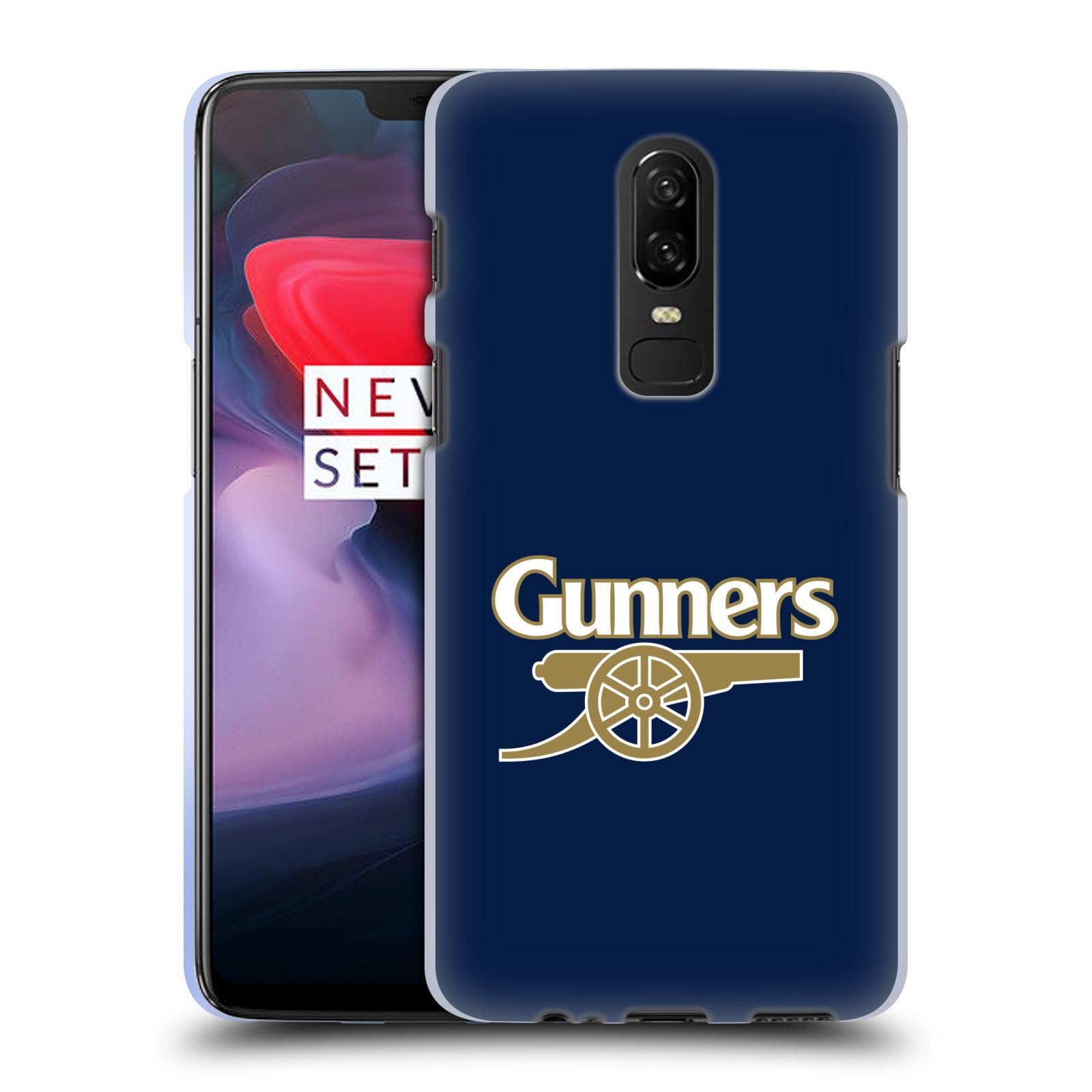 Silikonové pouzdro na mobil OnePlus 6 - Head Case - Arsenal FC - Gunners