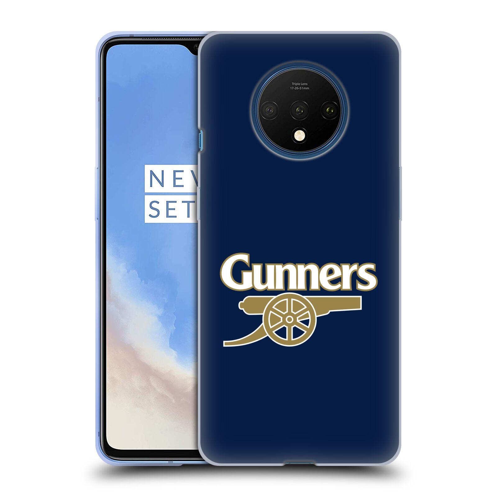 Silikonové pouzdro na mobil OnePlus 7T - Head Case - Arsenal FC - Gunners