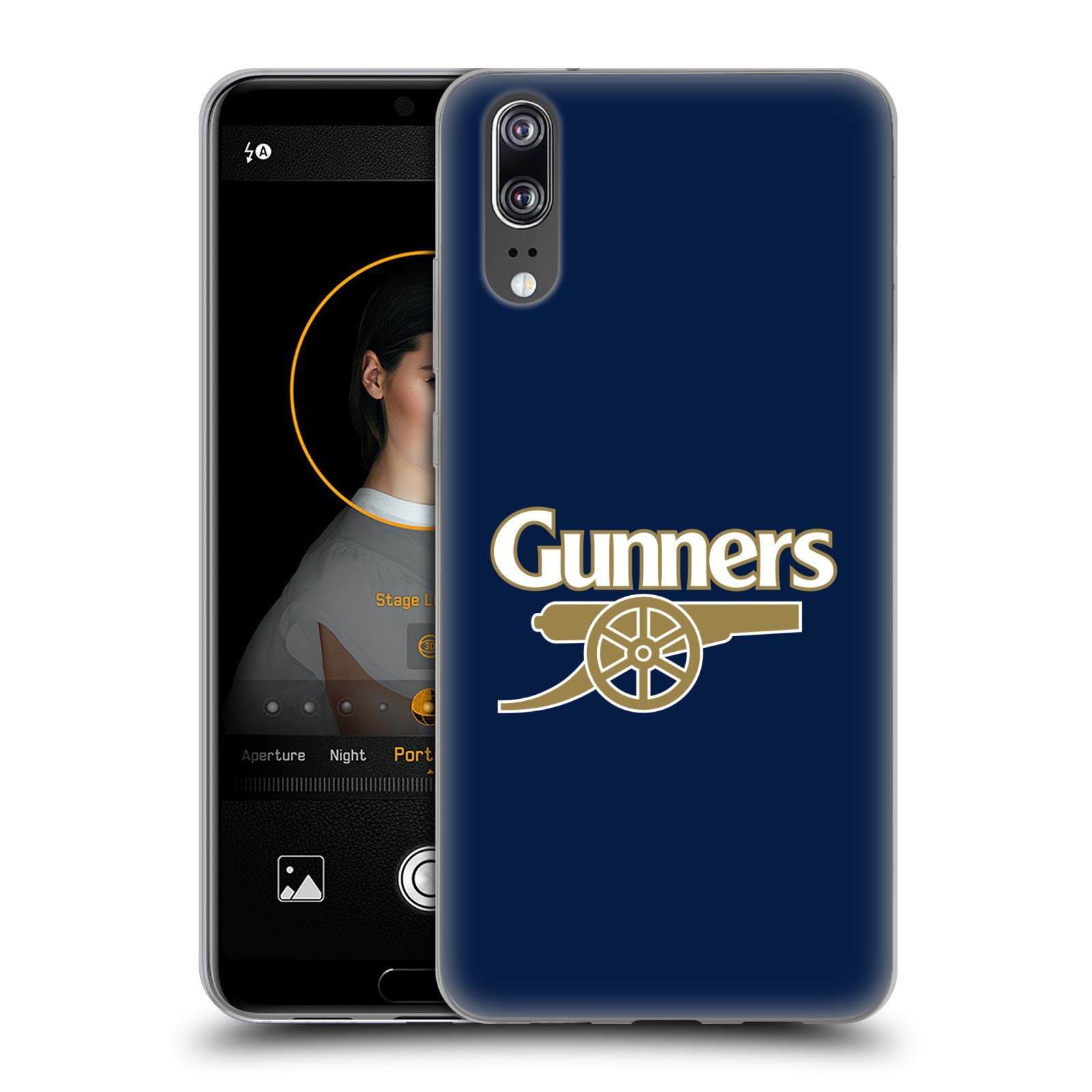Silikonové pouzdro na mobil Huawei P20 - Head Case - Arsenal FC - Gunners