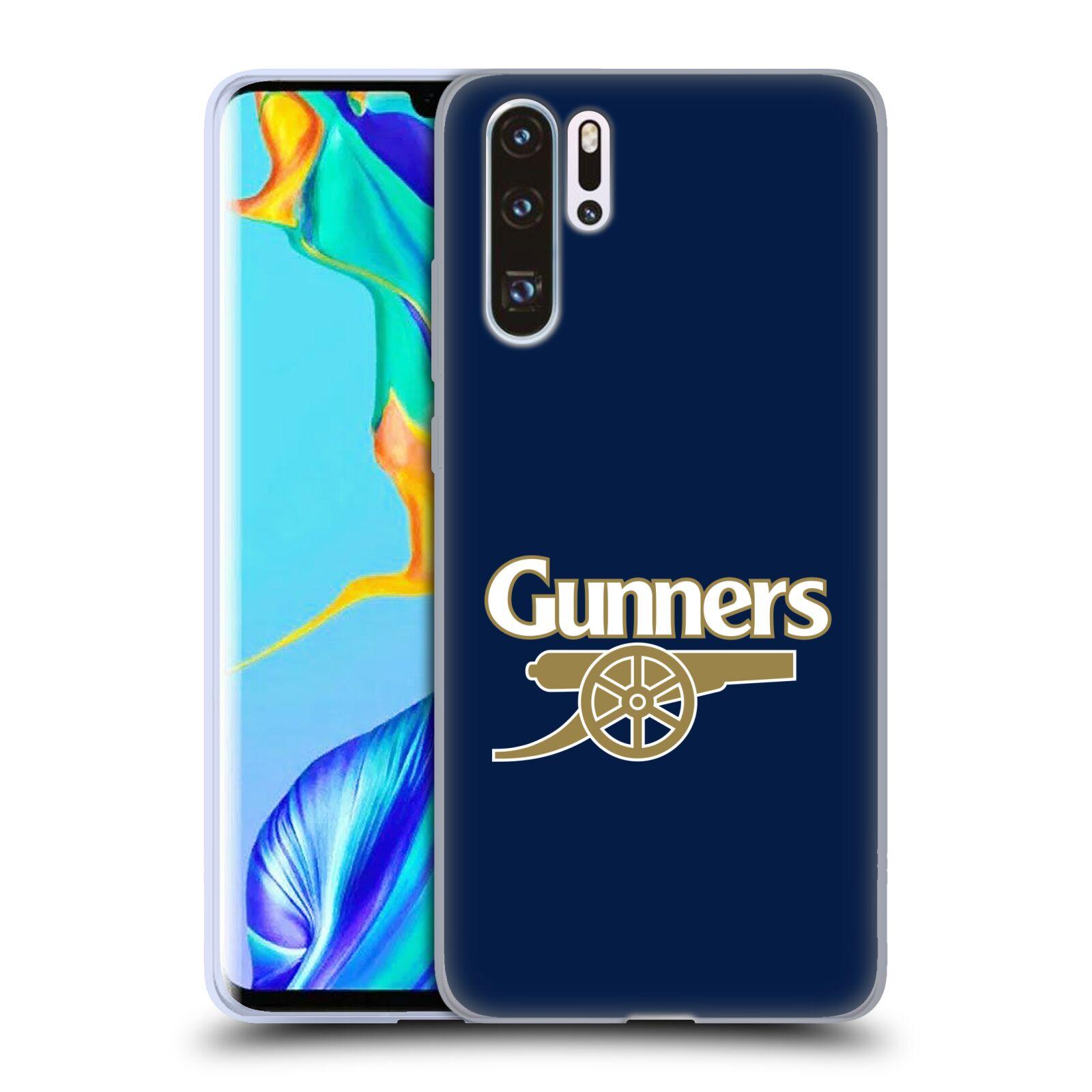 Silikonové pouzdro na mobil Huawei P30 Pro - Head Case - Arsenal FC - Gunners