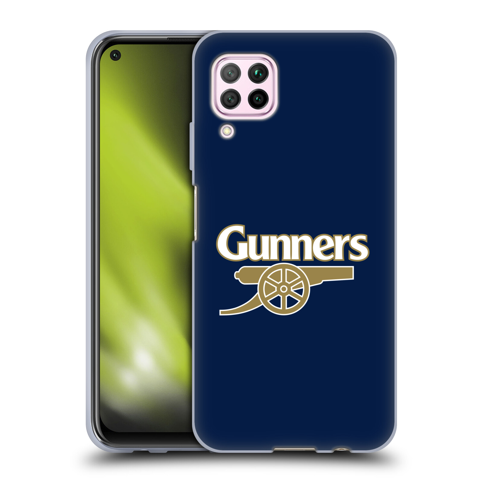 Silikonové pouzdro na mobil Huawei P40 Lite - Head Case - Arsenal FC - Gunners
