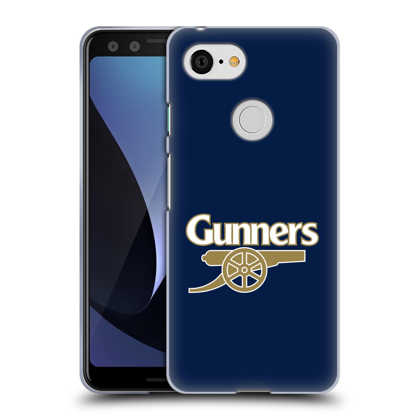 Silikonové pouzdro na mobil Google Pixel 3 - Head Case - Arsenal FC - Gunners