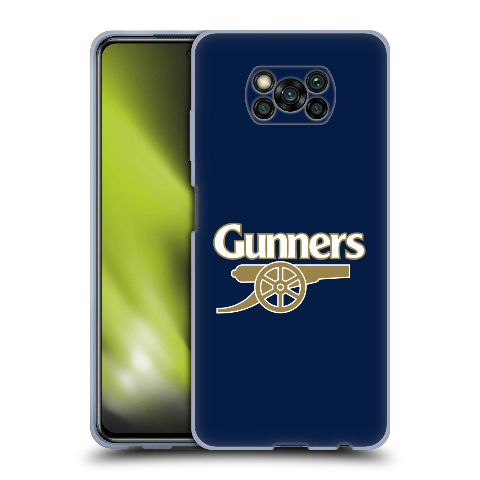 Silikonové pouzdro na mobil Xiaomi Poco X3 NFC - Head Case - Arsenal FC - Gunners