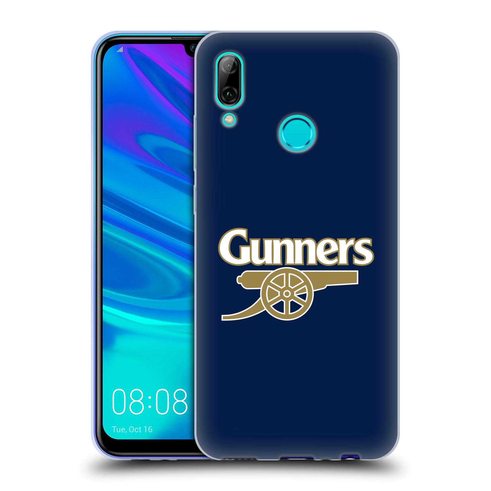 Silikonové pouzdro na mobil Huawei P Smart (2019) - Head Case - Arsenal FC - Gunners