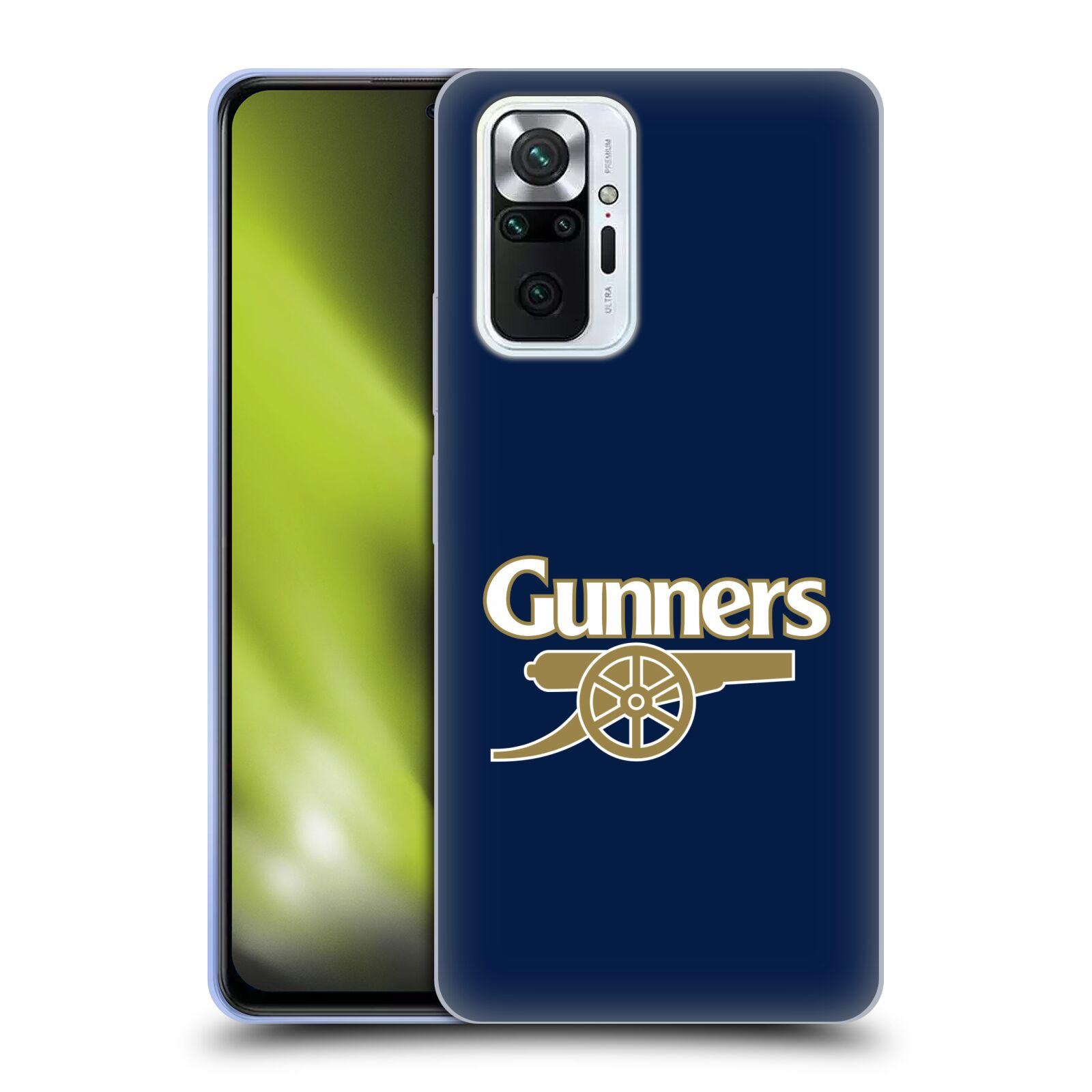 Silikonové pouzdro na mobil Xiaomi Redmi Note 10 Pro - Head Case - Arsenal FC - Gunners