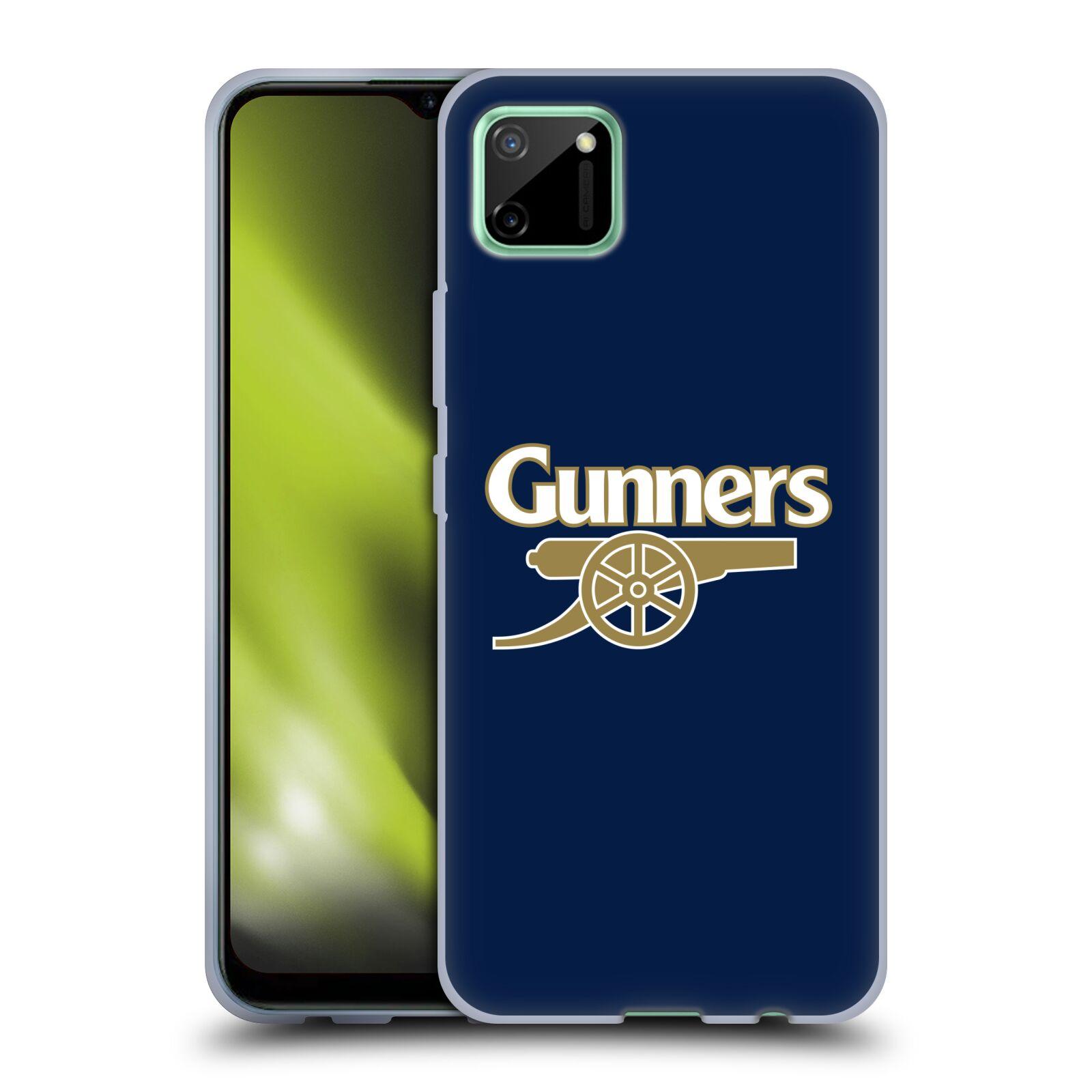 Silikonové pouzdro na mobil Realme C11 - Head Case - Arsenal FC - Gunners