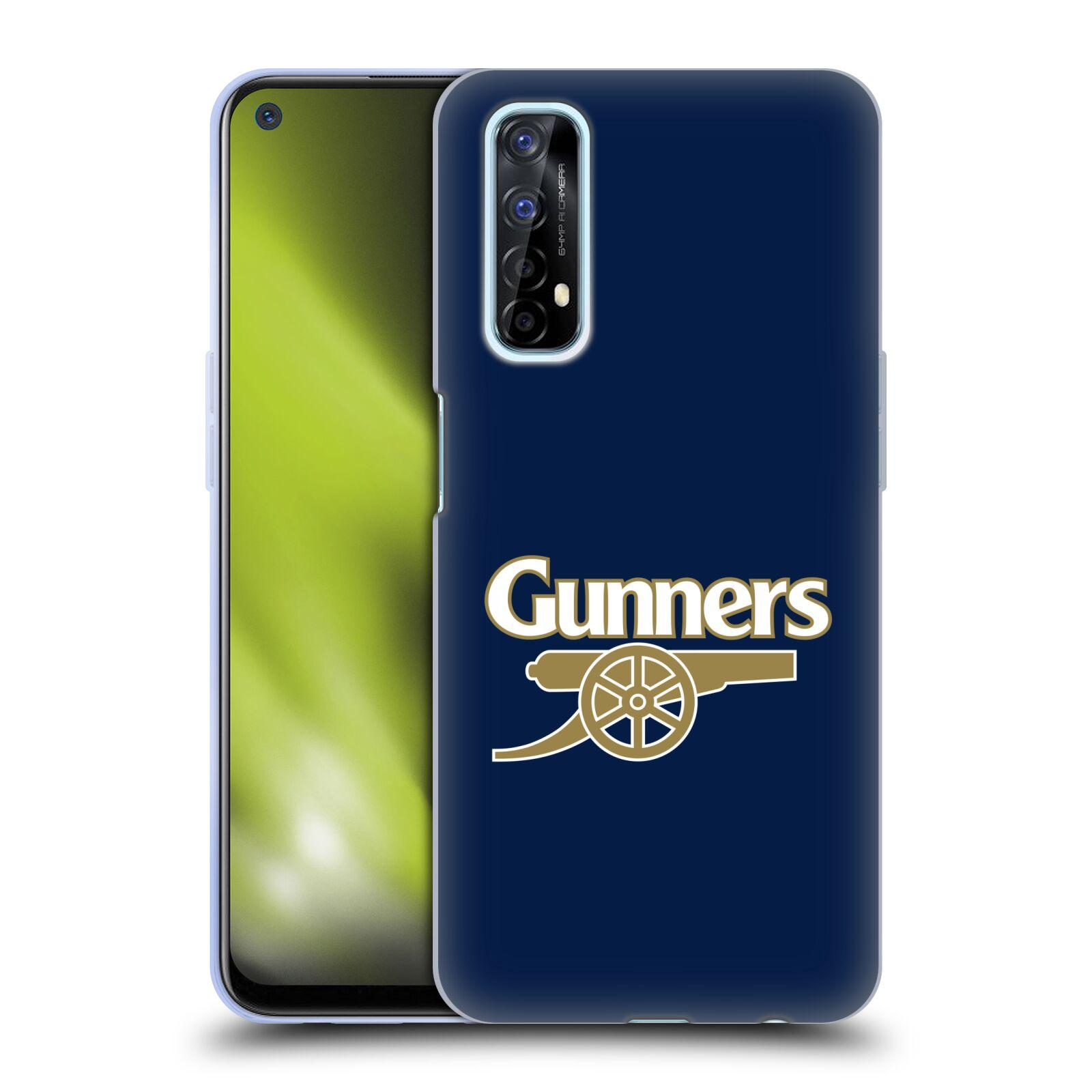 Silikonové pouzdro na mobil Realme 7 - Head Case - Arsenal FC - Gunners