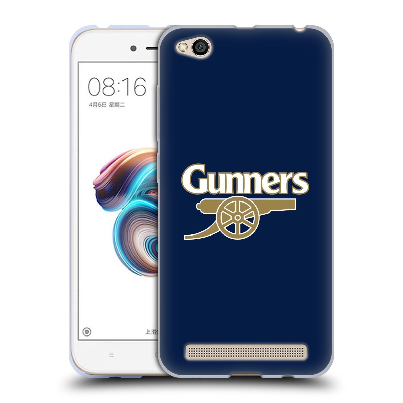 Silikonové pouzdro na mobil Xiaomi Redmi 5A - Head Case - Arsenal FC - Gunners