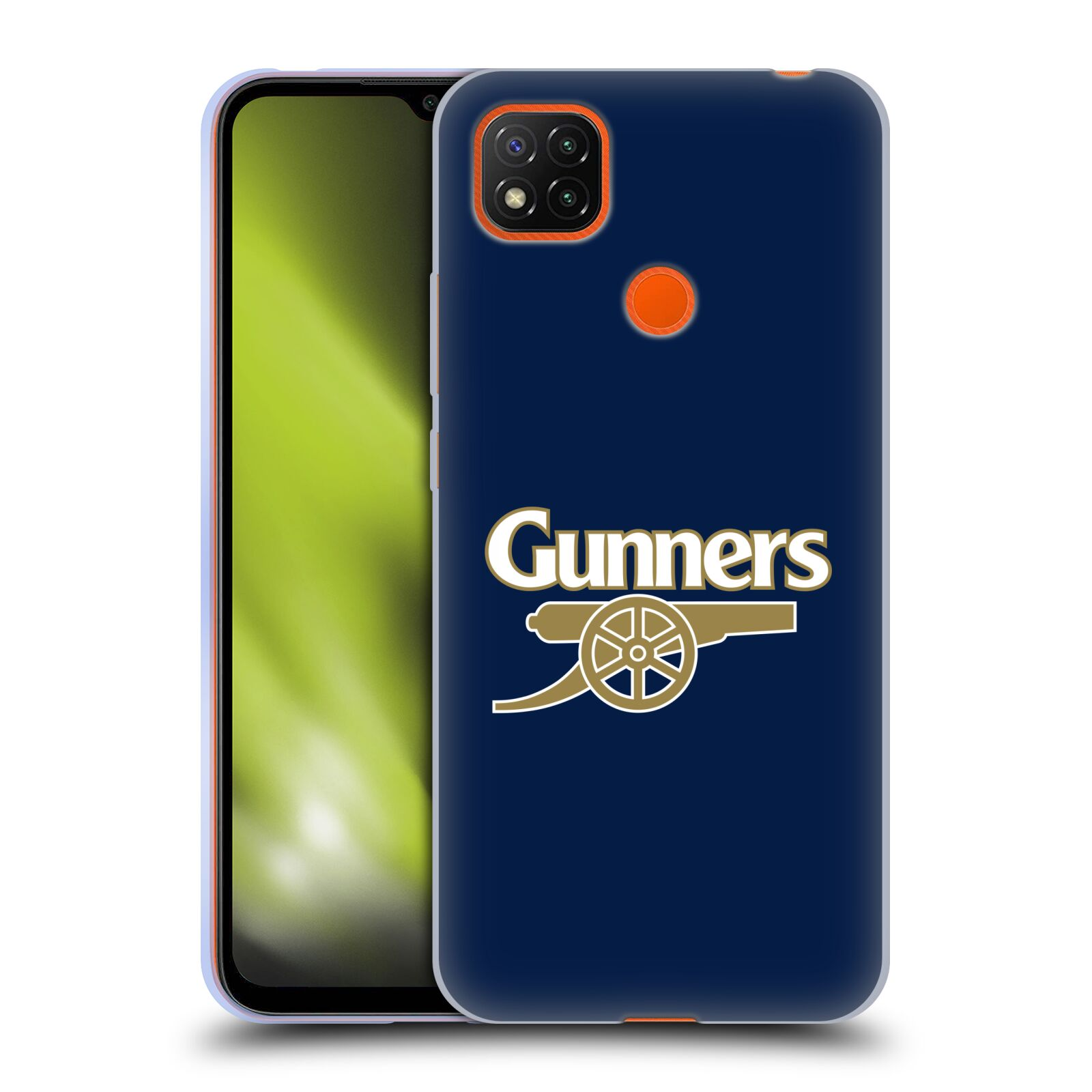 Silikonové pouzdro na mobil Xiaomi Redmi 9C - Head Case - Arsenal FC - Gunners