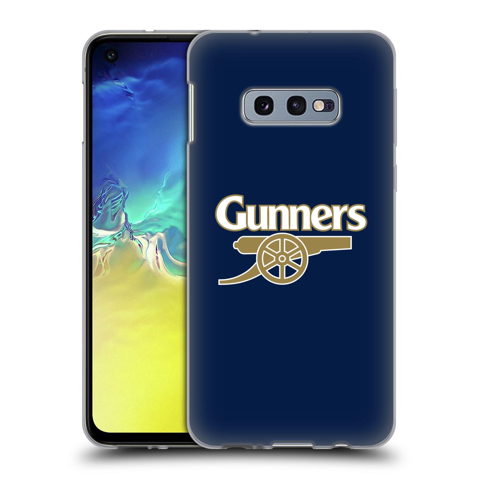 Silikonové pouzdro na mobil Samsung Galaxy S10e - Head Case - Arsenal FC - Gunners