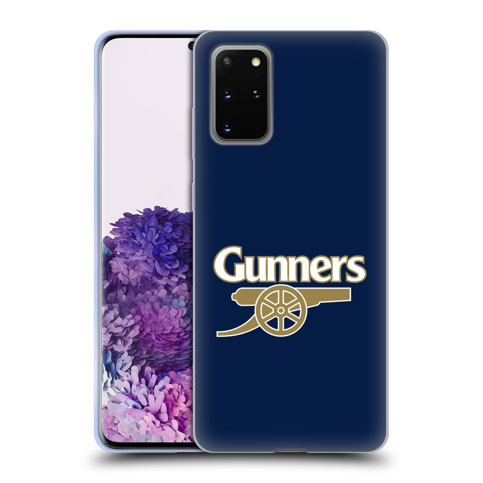 Silikonové pouzdro na mobil Samsung Galaxy S20 Plus - Head Case - Arsenal FC - Gunners