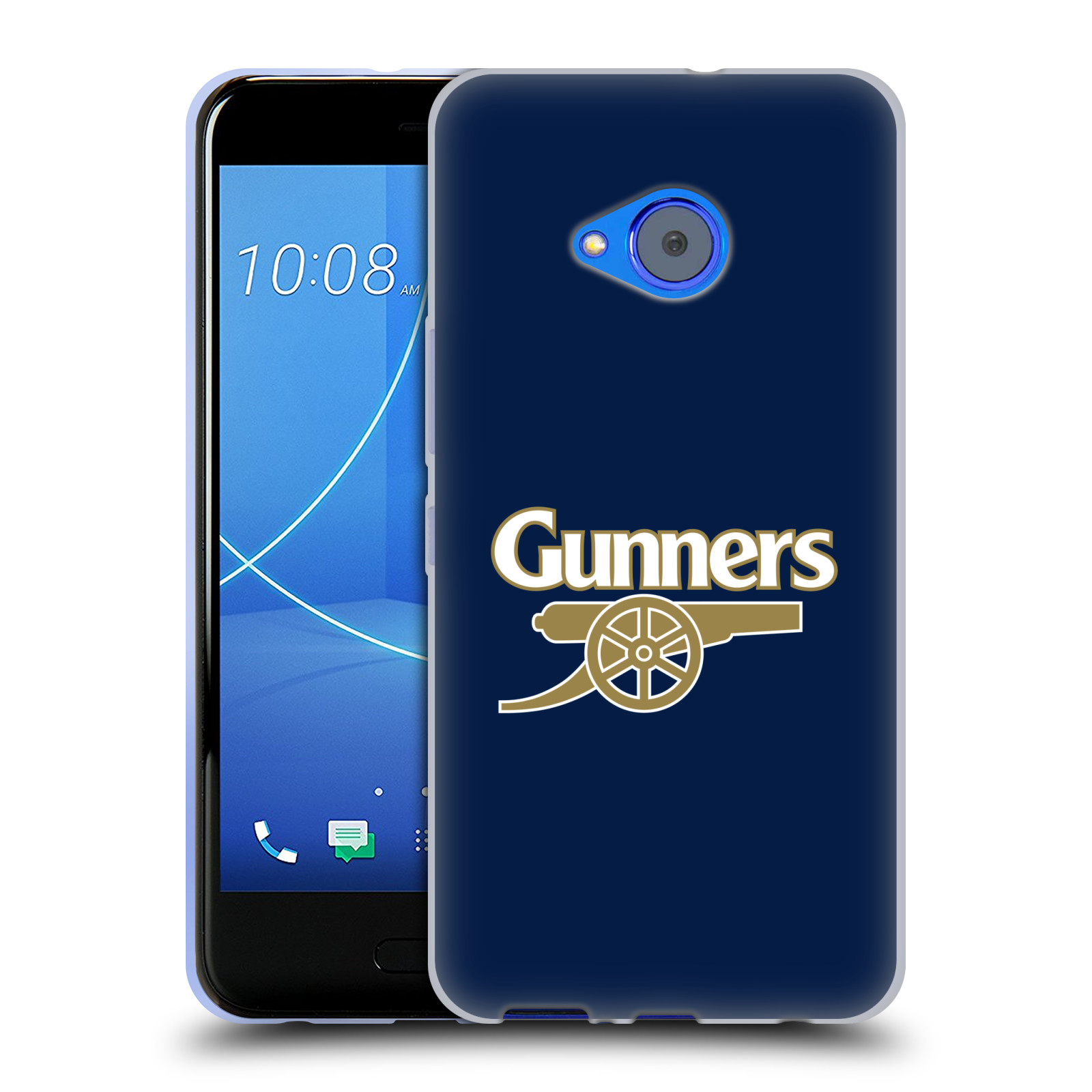 Silikonové pouzdro na mobil HTC U11 Life - Head Case - Arsenal FC - Gunners