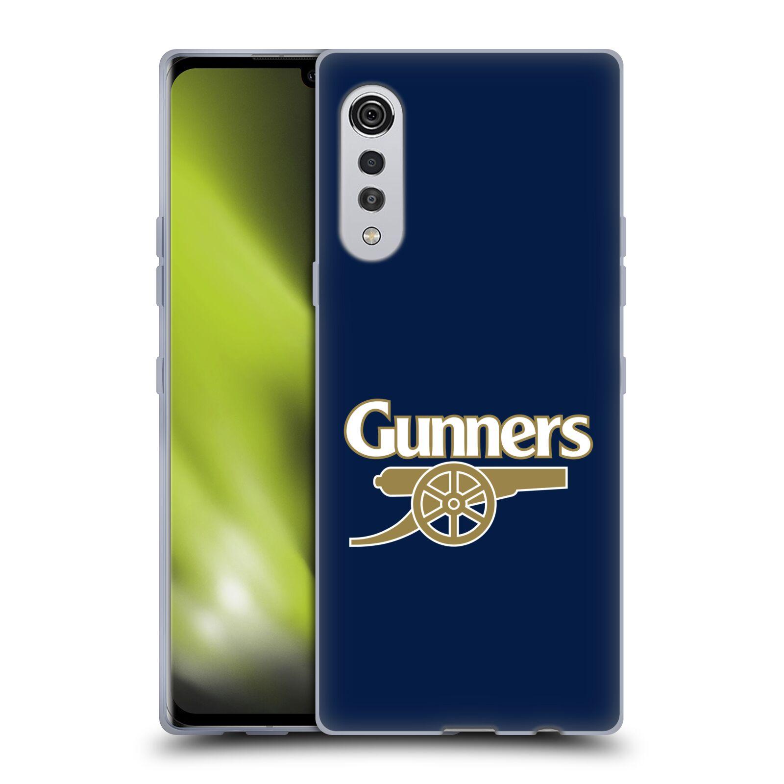 Silikonové pouzdro na mobil LG Velvet - Head Case - Arsenal FC - Gunners