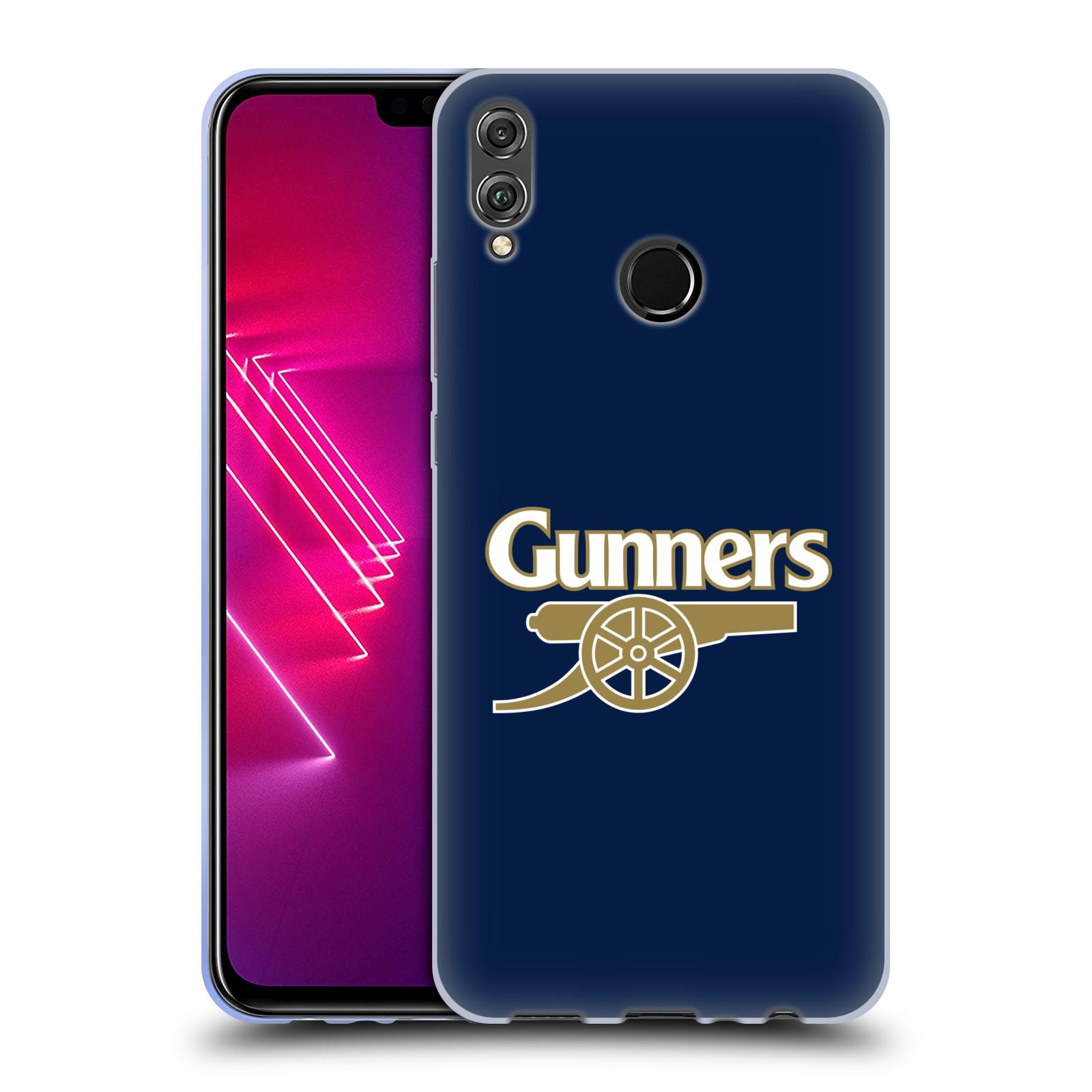Silikonové pouzdro na mobil Honor 8X - Head Case - Arsenal FC - Gunners