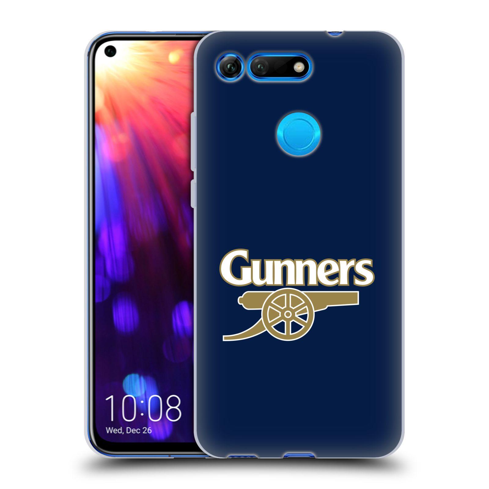 Silikonové pouzdro na mobil Honor View 20 - Head Case - Arsenal FC - Gunners