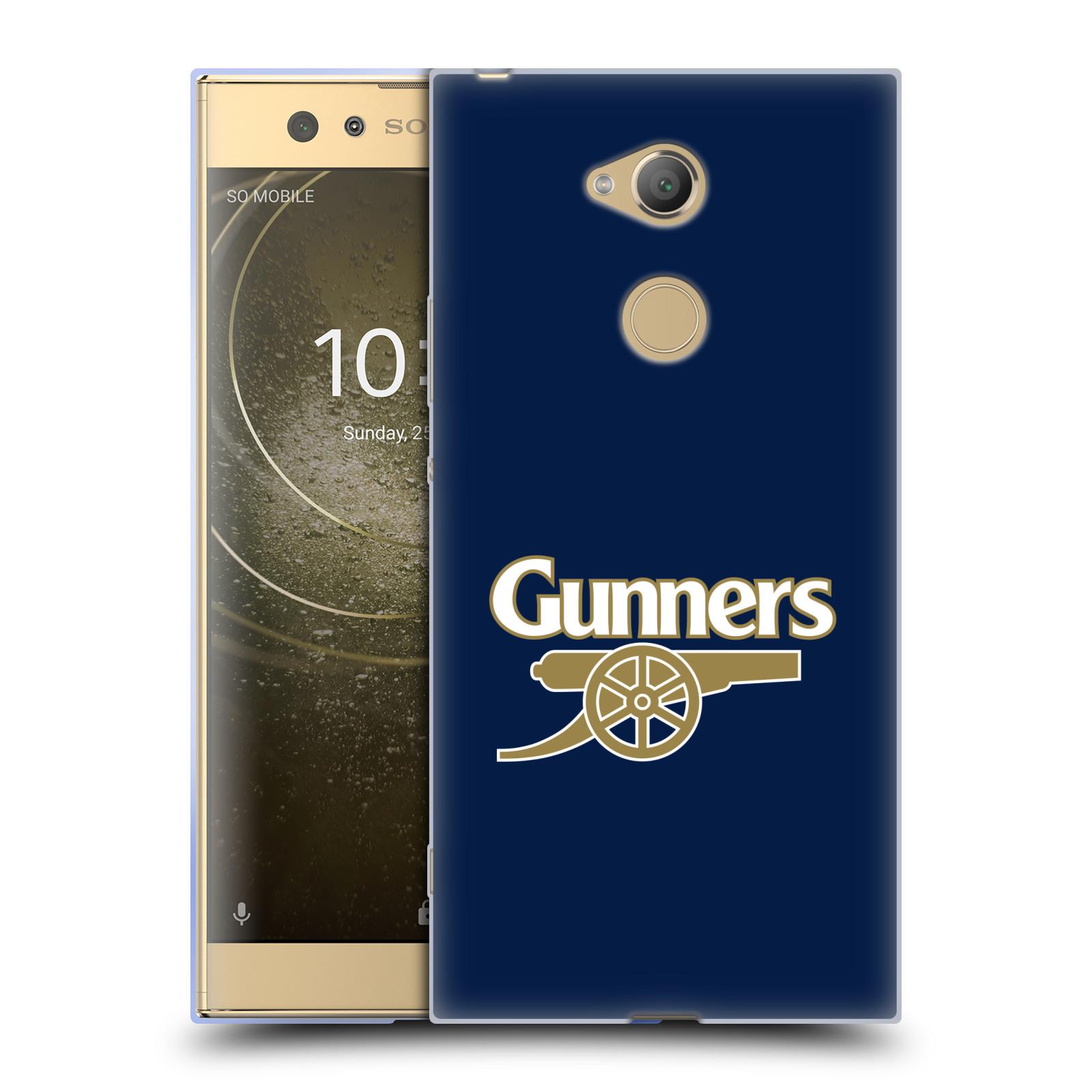 Silikonové pouzdro na mobil Sony Xperia XA2 Ultra - Head Case - Arsenal FC - Gunners