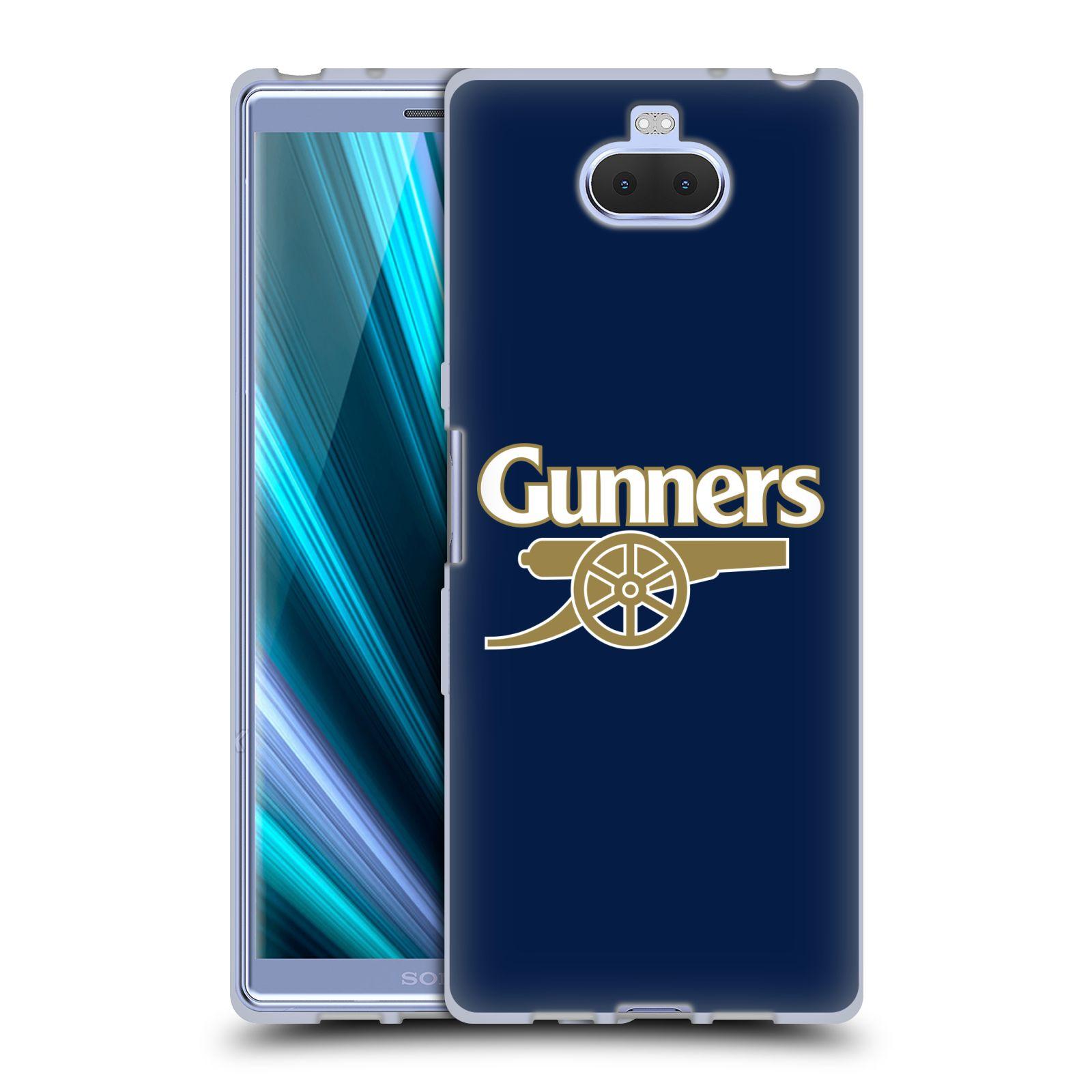 Silikonové pouzdro na mobil Sony Xperia 10 - Head Case - Arsenal FC - Gunners