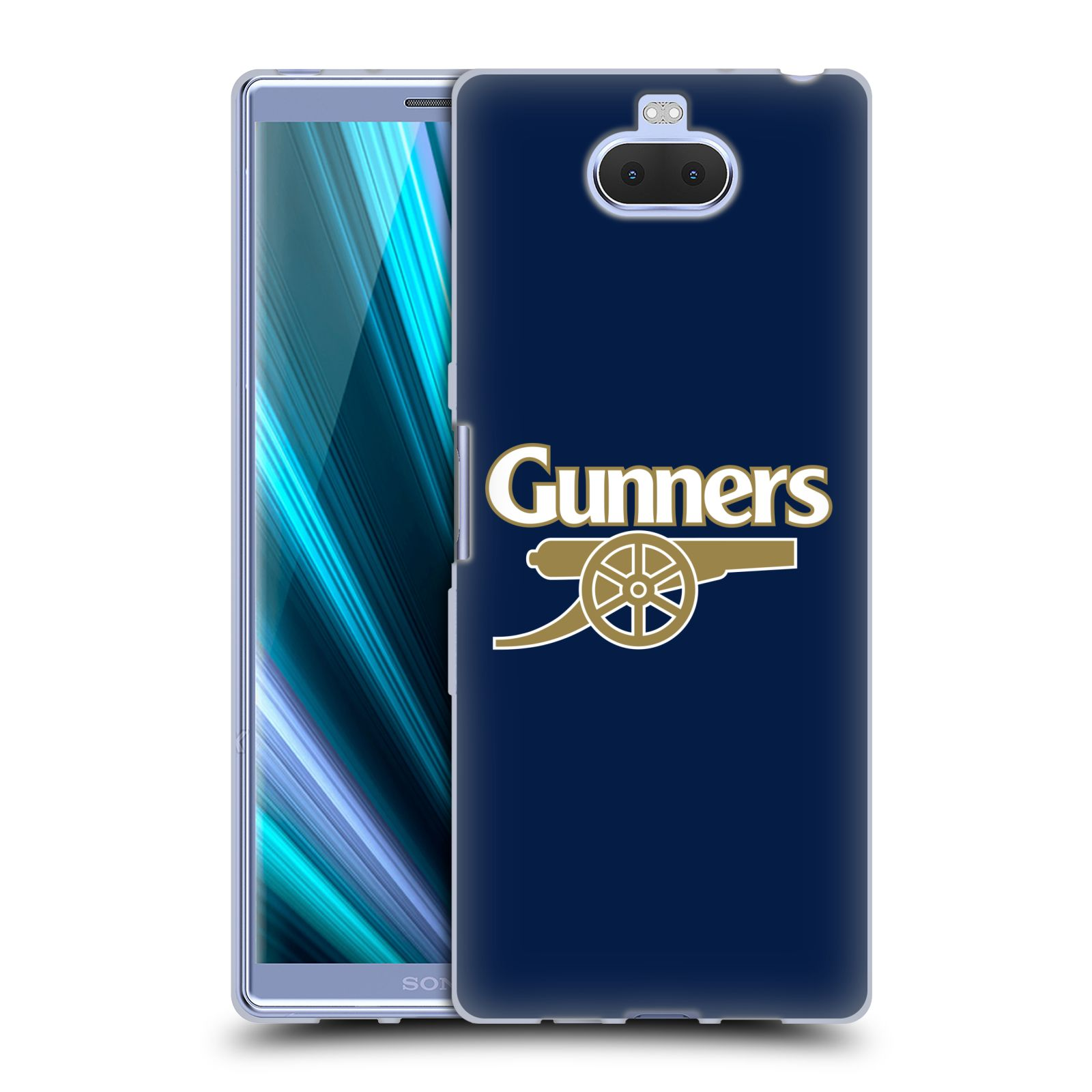 Silikonové pouzdro na mobil Sony Xperia 10 Plus - Head Case - Arsenal FC - Gunners