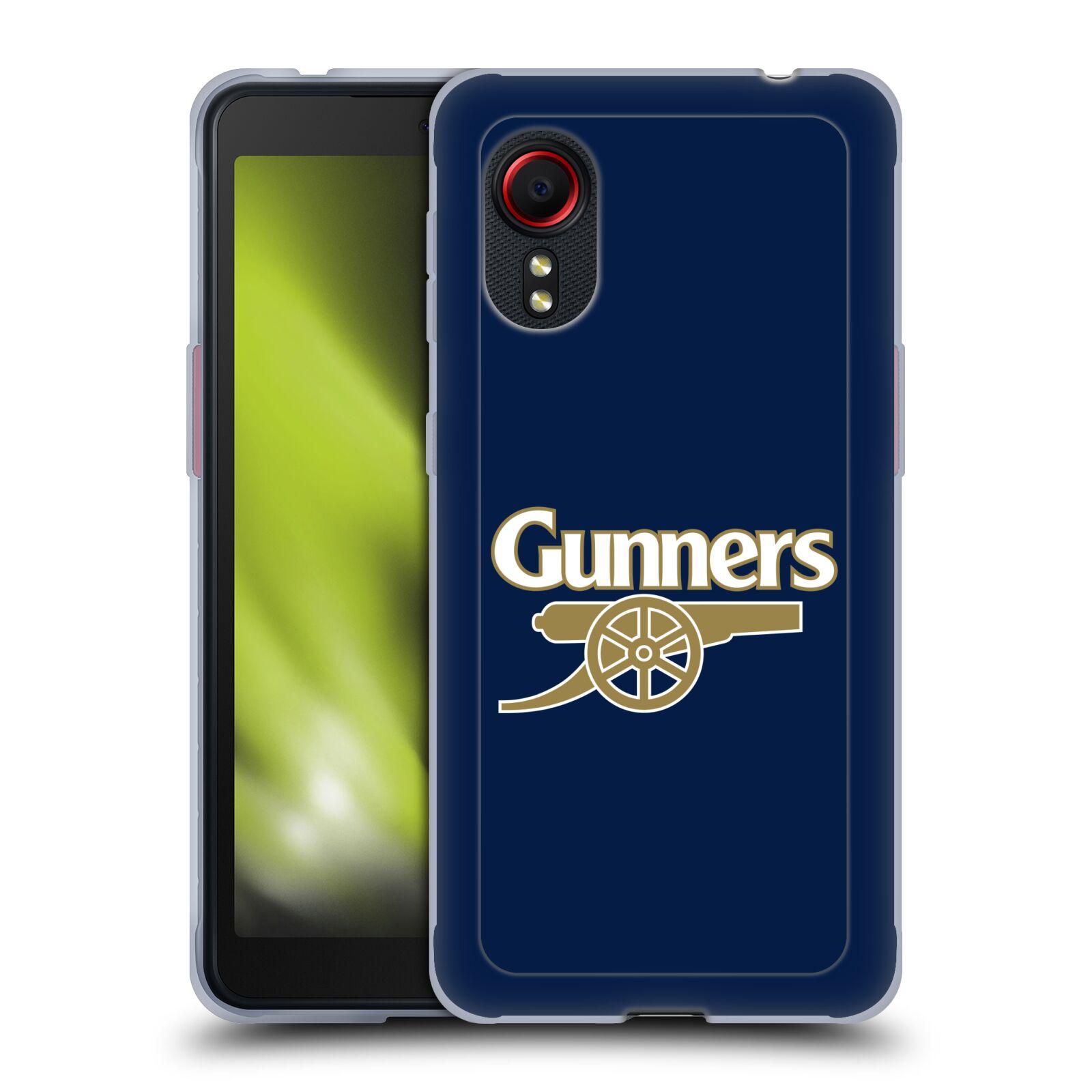 Silikonové pouzdro na mobil Samsung Galaxy Xcover 5 - Head Case - Arsenal FC - Gunners