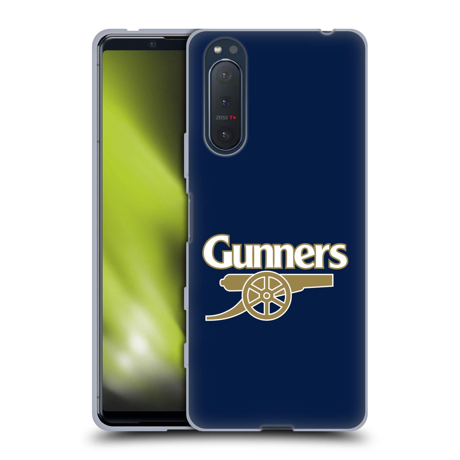 Silikonové pouzdro na mobil Sony Xperia 5 II - Head Case - Arsenal FC - Gunners