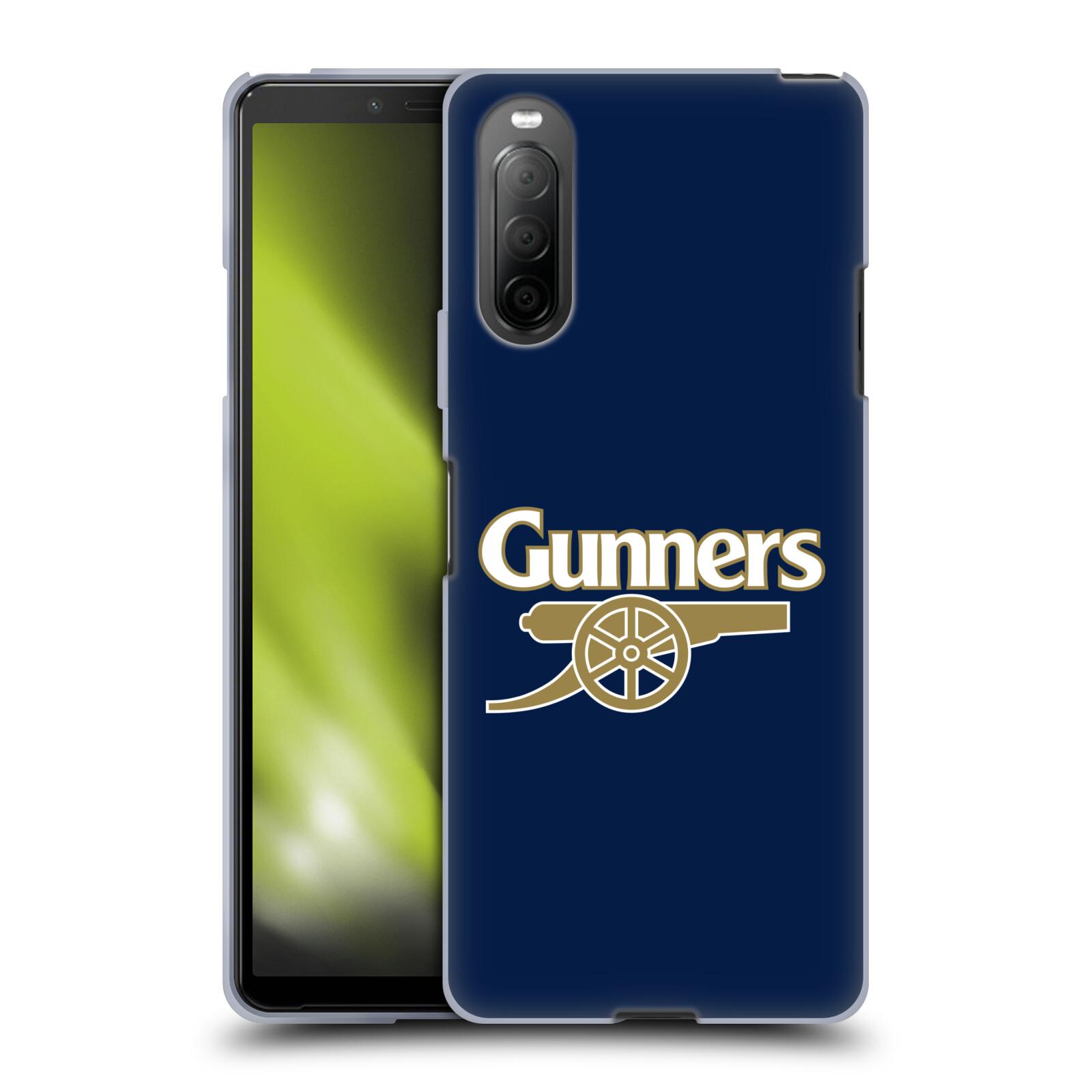 Silikonové pouzdro na mobil Sony Xperia 10 II - Head Case - Arsenal FC - Gunners