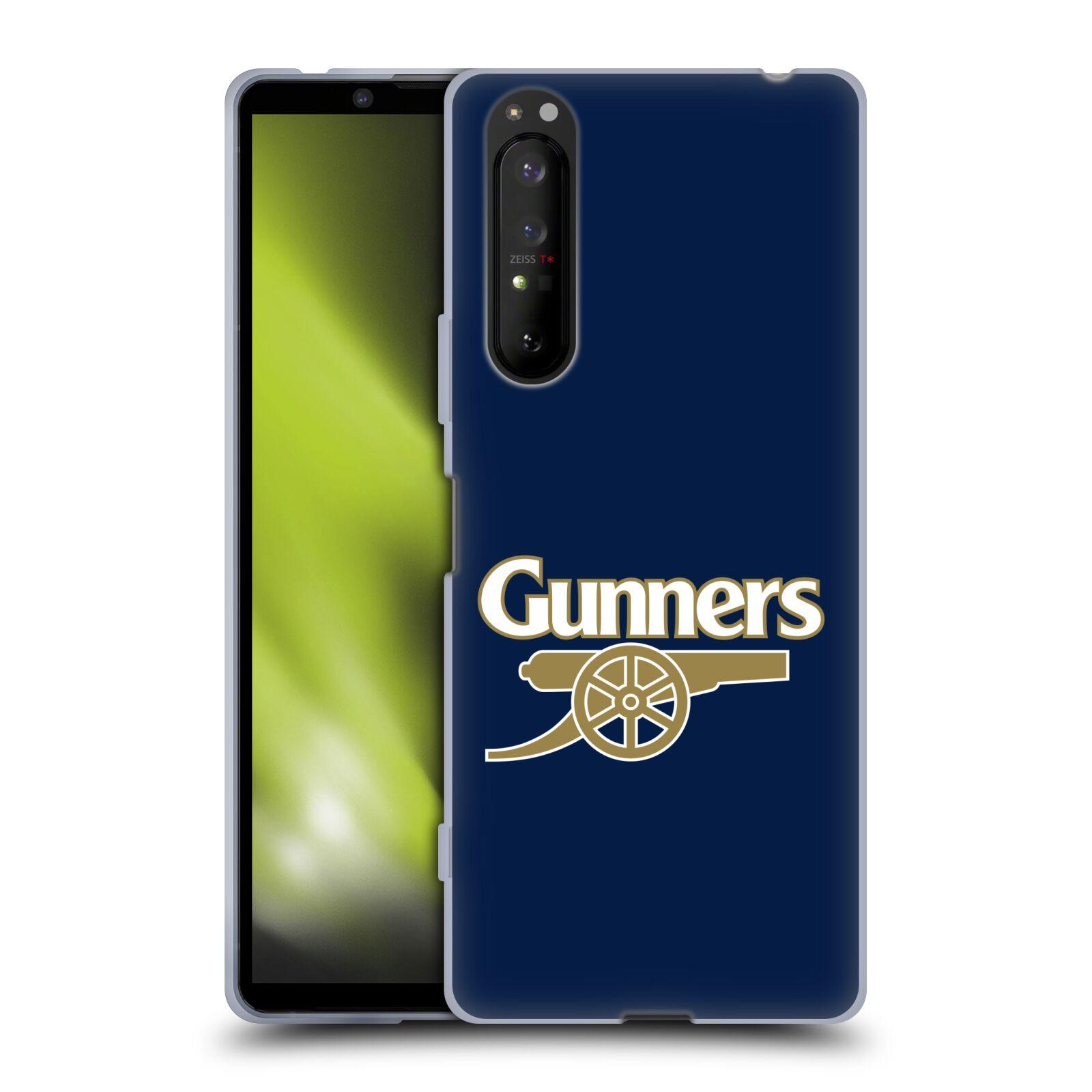 Silikonové pouzdro na mobil Sony Xperia 1 II - Head Case - Arsenal FC - Gunners