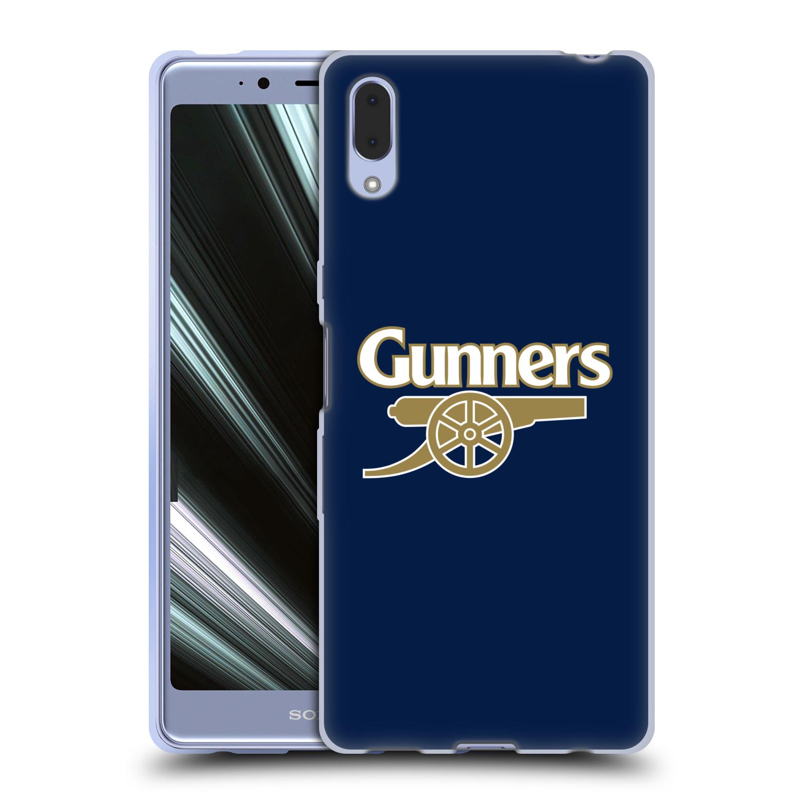 Silikonové pouzdro na mobil Sony Xperia L3 - Head Case - Arsenal FC - Gunners