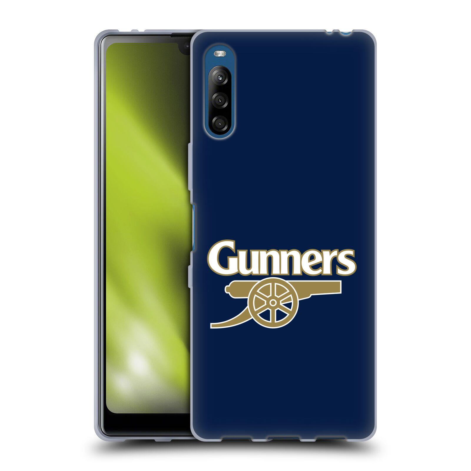 Silikonové pouzdro na mobil Sony Xperia L4 - Head Case - Arsenal FC - Gunners