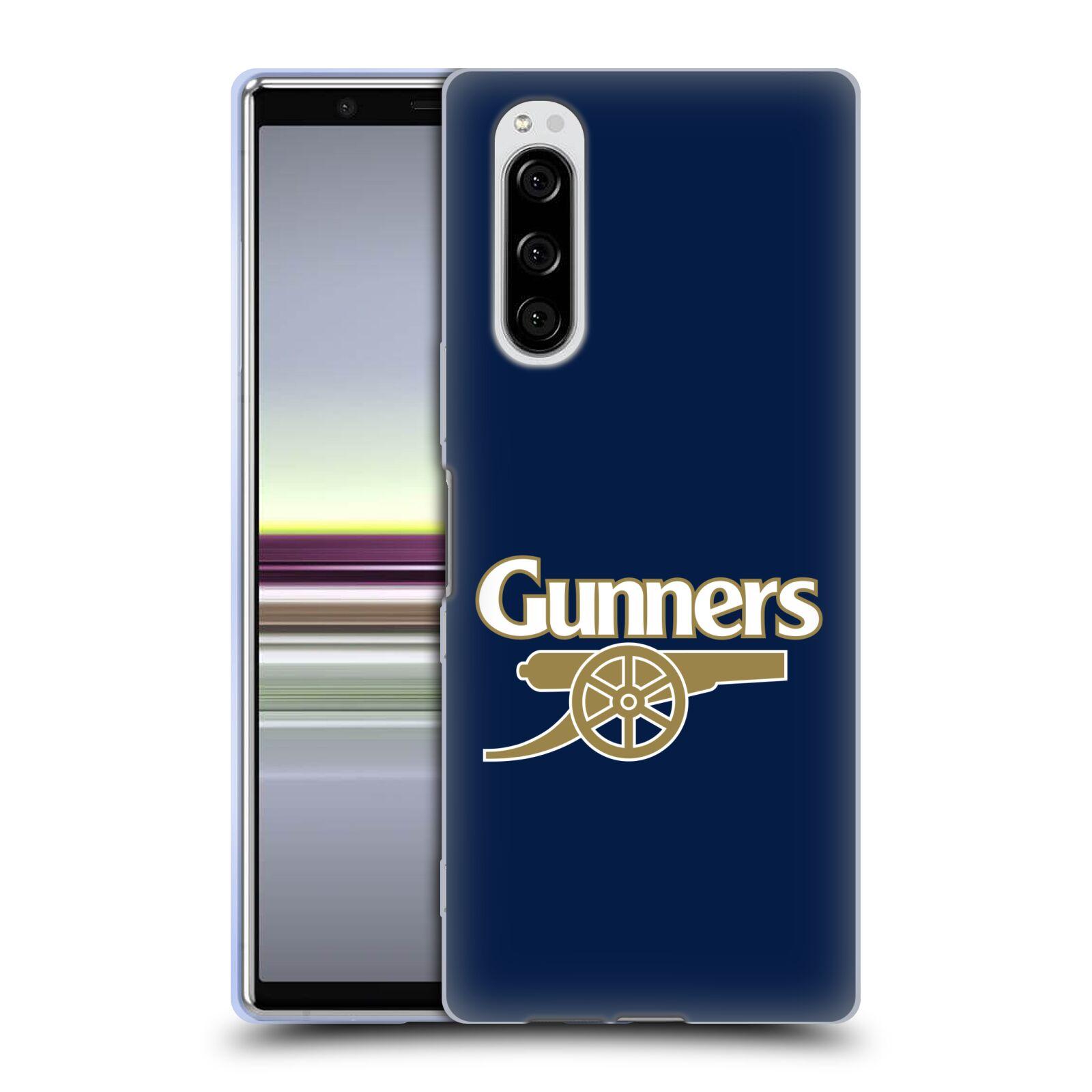 Silikonové pouzdro na mobil Sony Xperia 5 - Head Case - Arsenal FC - Gunners