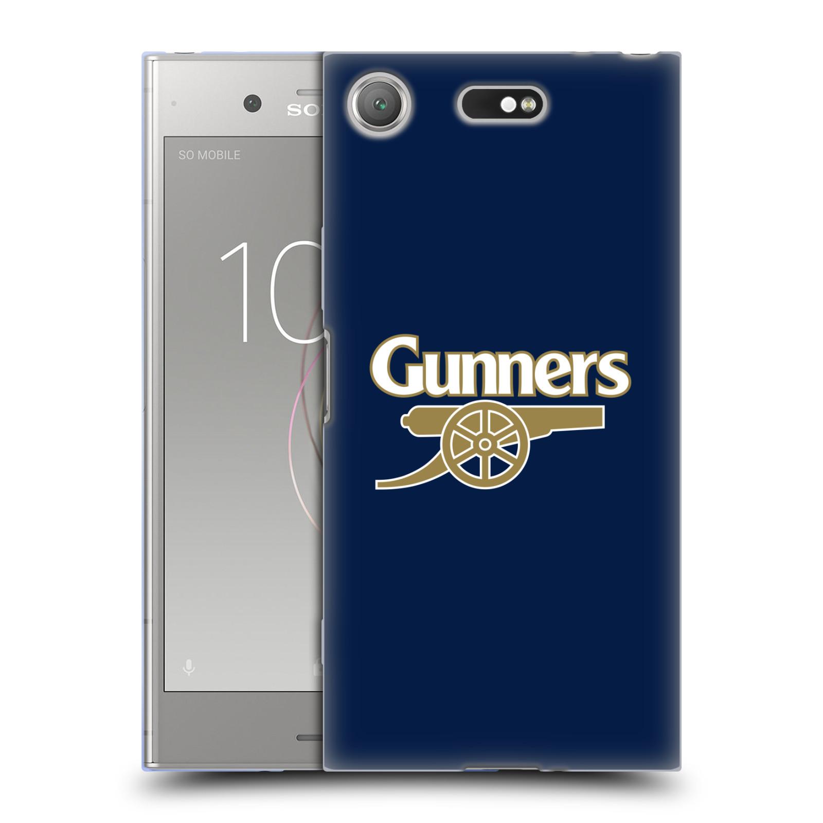 Silikonové pouzdro na mobil Sony Xperia XZ1 Compact - Head Case - Arsenal FC - Gunners
