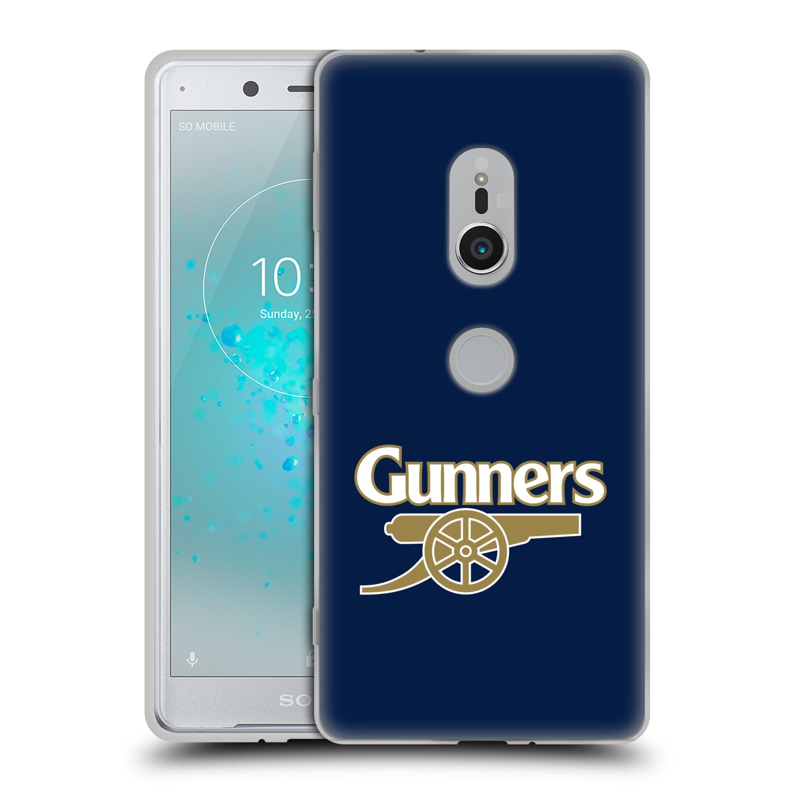 Silikonové pouzdro na mobil Sony Xperia XZ2 - Head Case - Arsenal FC - Gunners