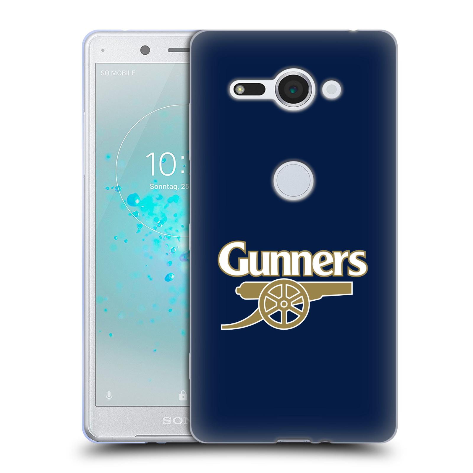 Silikonové pouzdro na mobil Sony Xperia XZ2 Compact - Head Case - Arsenal FC - Gunners
