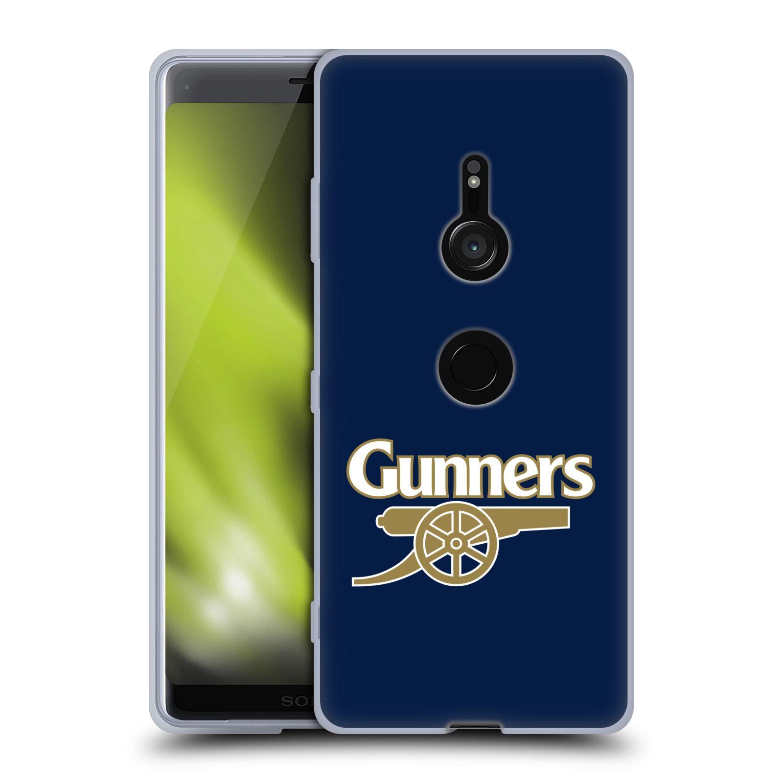 Silikonové pouzdro na mobil Sony Xperia XZ3 - Head Case - Arsenal FC - Gunners