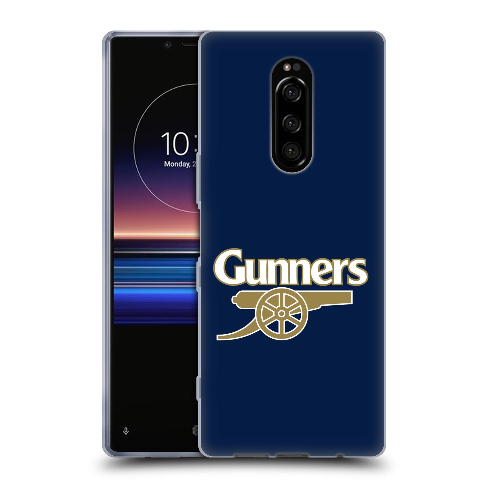 Silikonové pouzdro na mobil Sony Xperia 1 - Head Case - Arsenal FC - Gunners