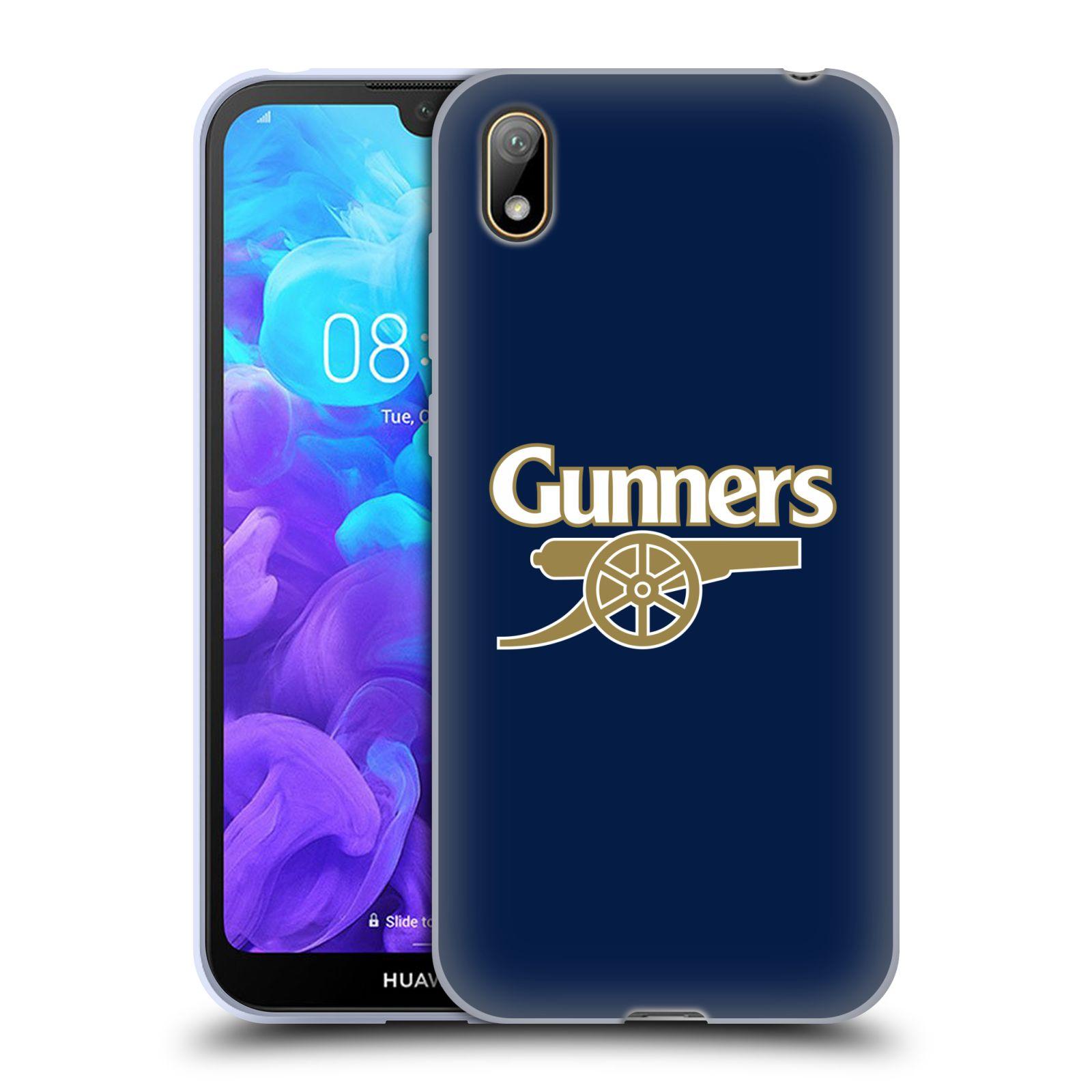Silikonové pouzdro na mobil Huawei Y5 (2019) - Head Case - Arsenal FC - Gunners