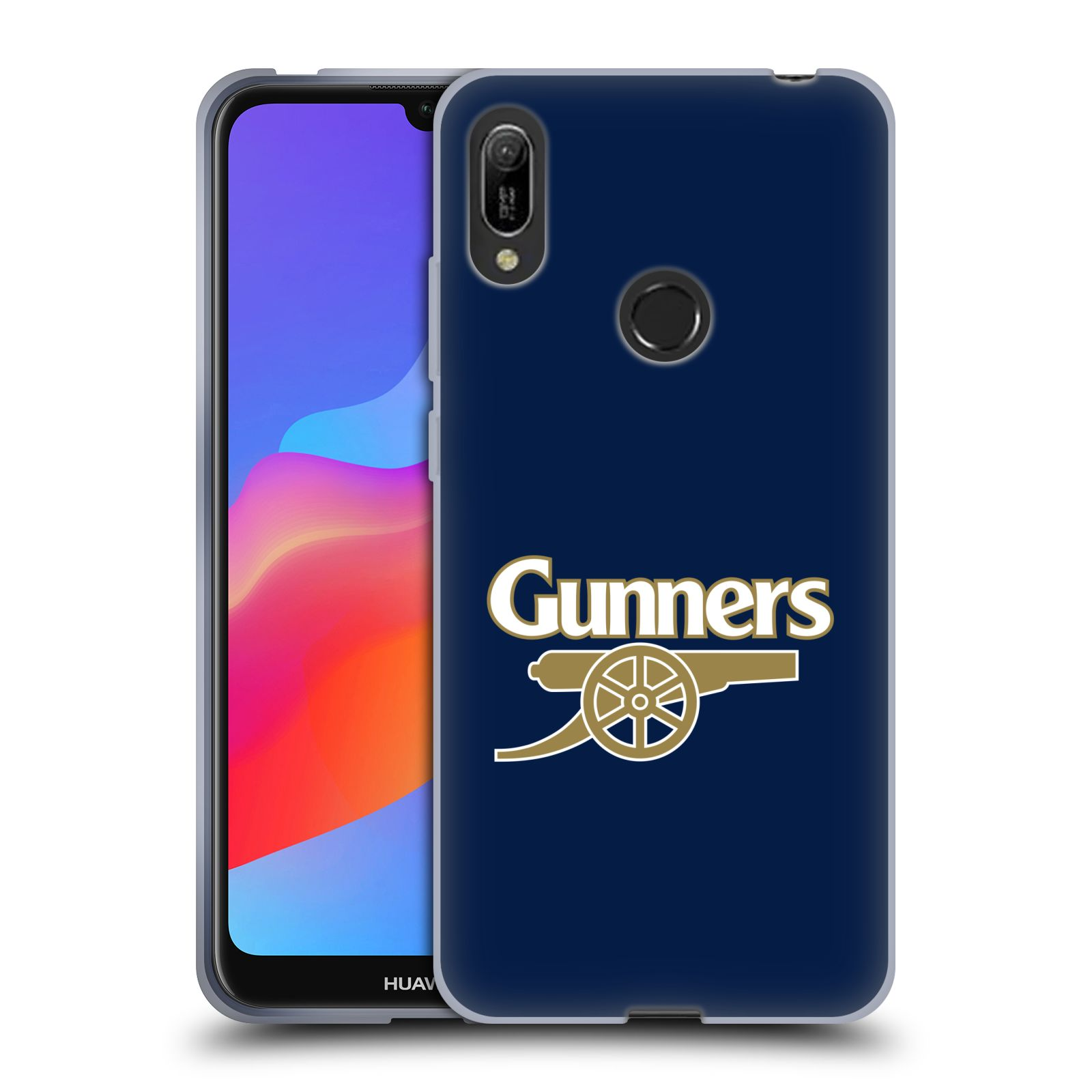 Silikonové pouzdro na mobil Huawei Y6 (2019) - Head Case - Arsenal FC - Gunners
