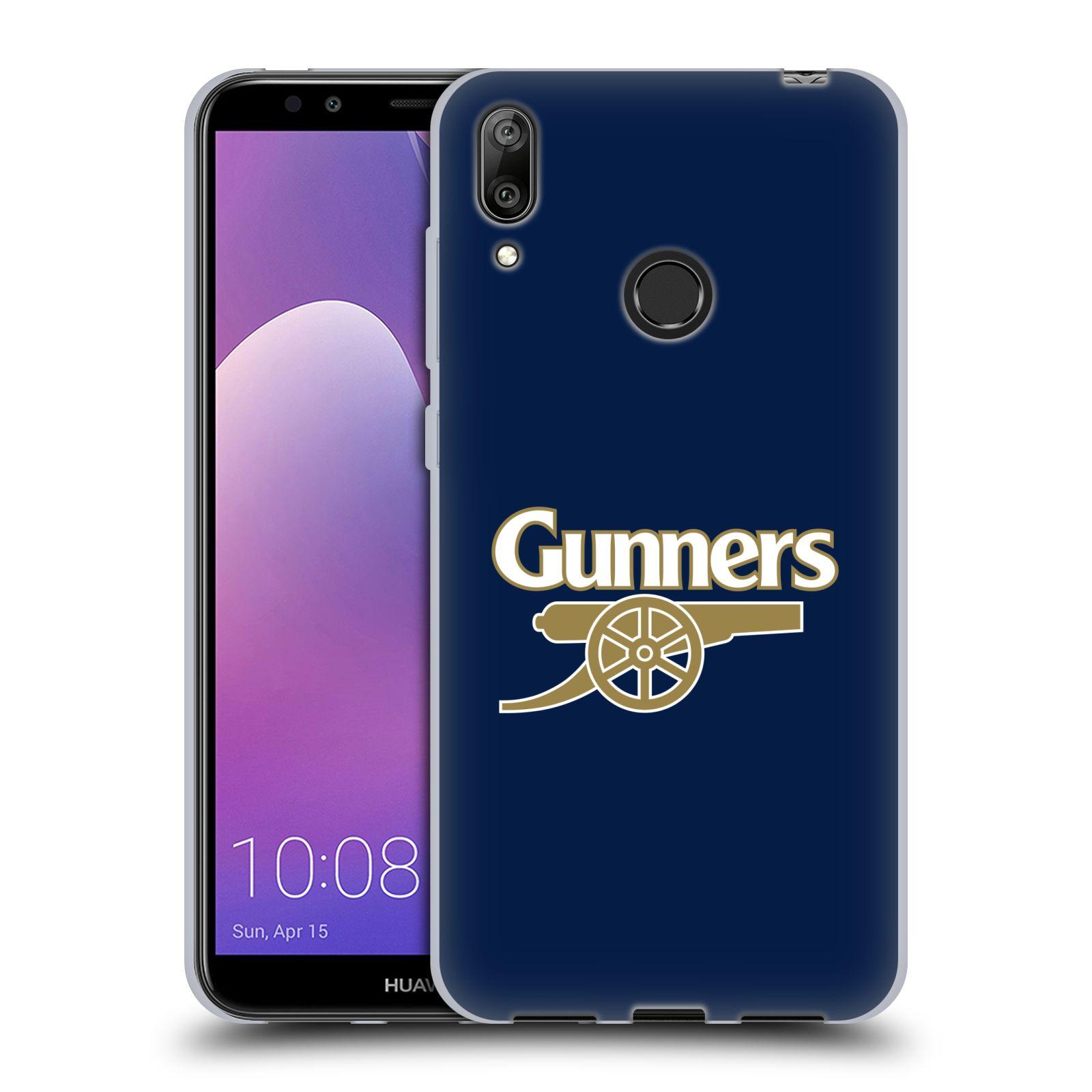 Silikonové pouzdro na mobil Huawei Y7 (2019) - Head Case - Arsenal FC - Gunners