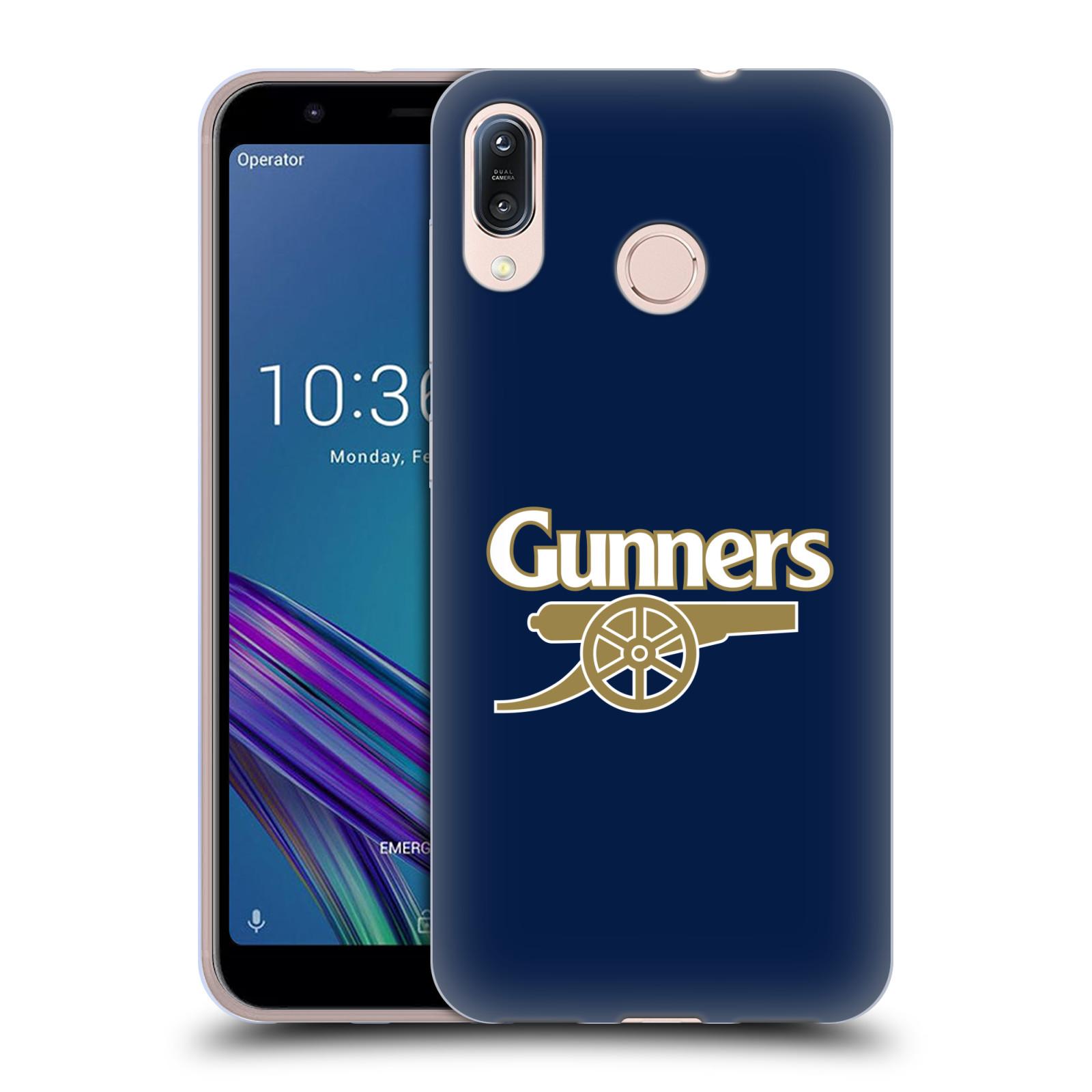 Silikonové pouzdro na mobil Asus Zenfone Max M1 ZB555KL - Head Case - Arsenal FC - Gunners