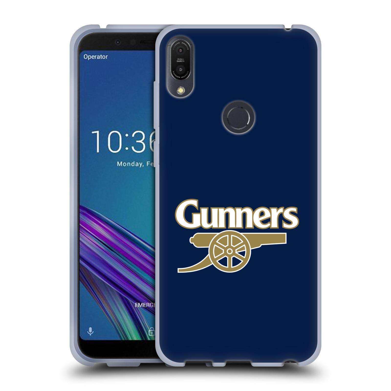 Silikonové pouzdro na mobil Asus ZenFone Max Pro (M1) - Head Case - Arsenal FC - Gunners